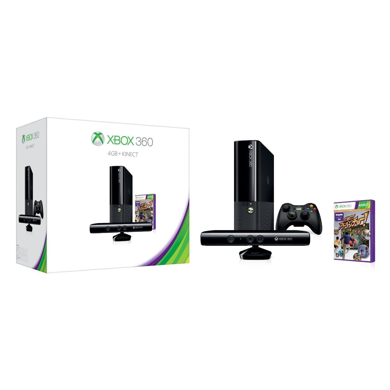 Xbox 360 Console (4GB) + Kinect