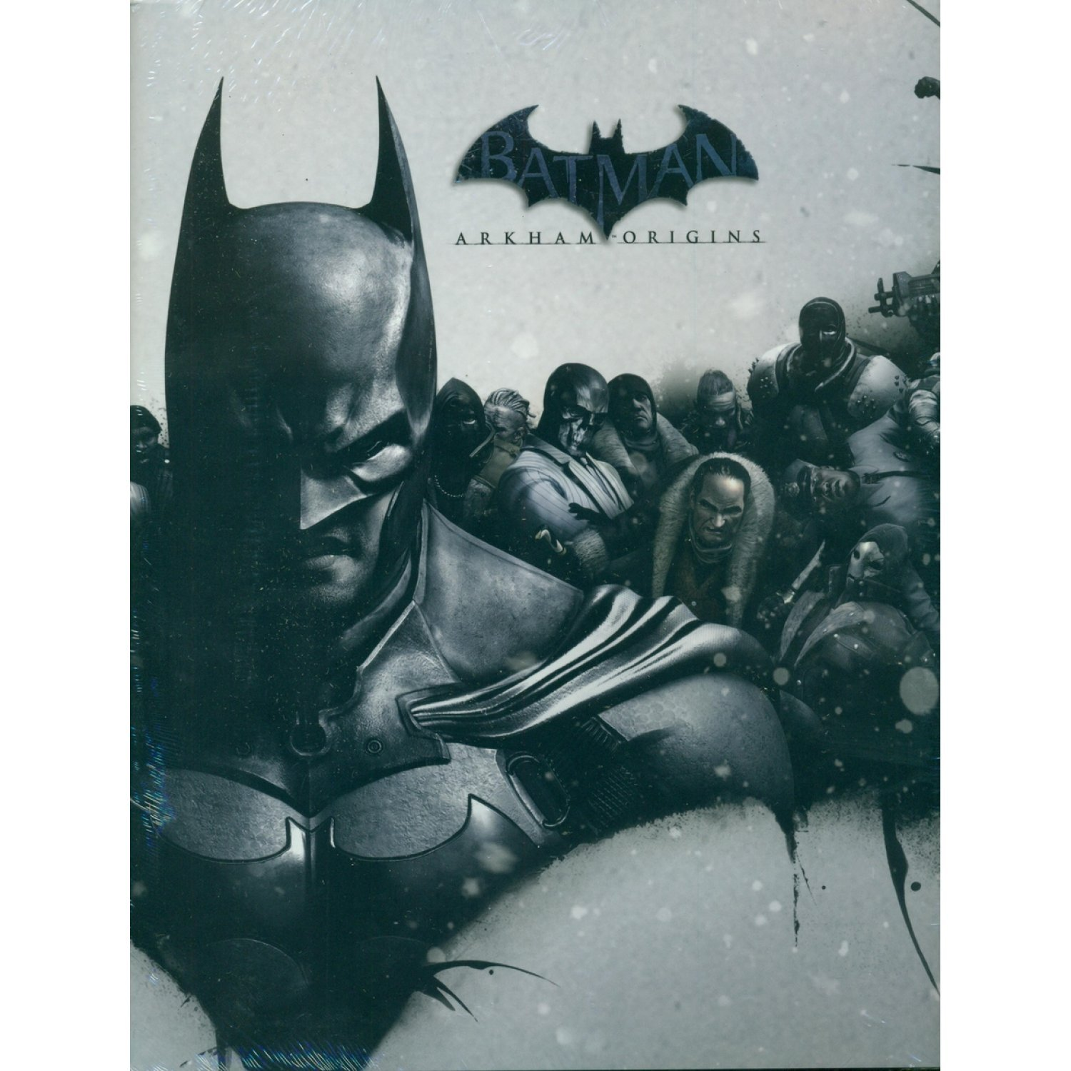 Batman arkham origins limited edition strategy guide voltagebd Image collections