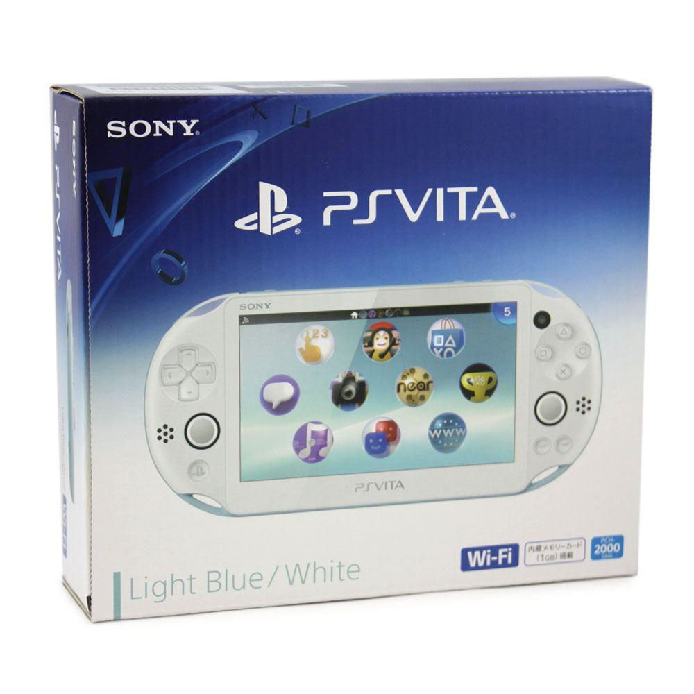 PS Vita PlayStation Vita New Slim Model - PCH-2000 (Light
