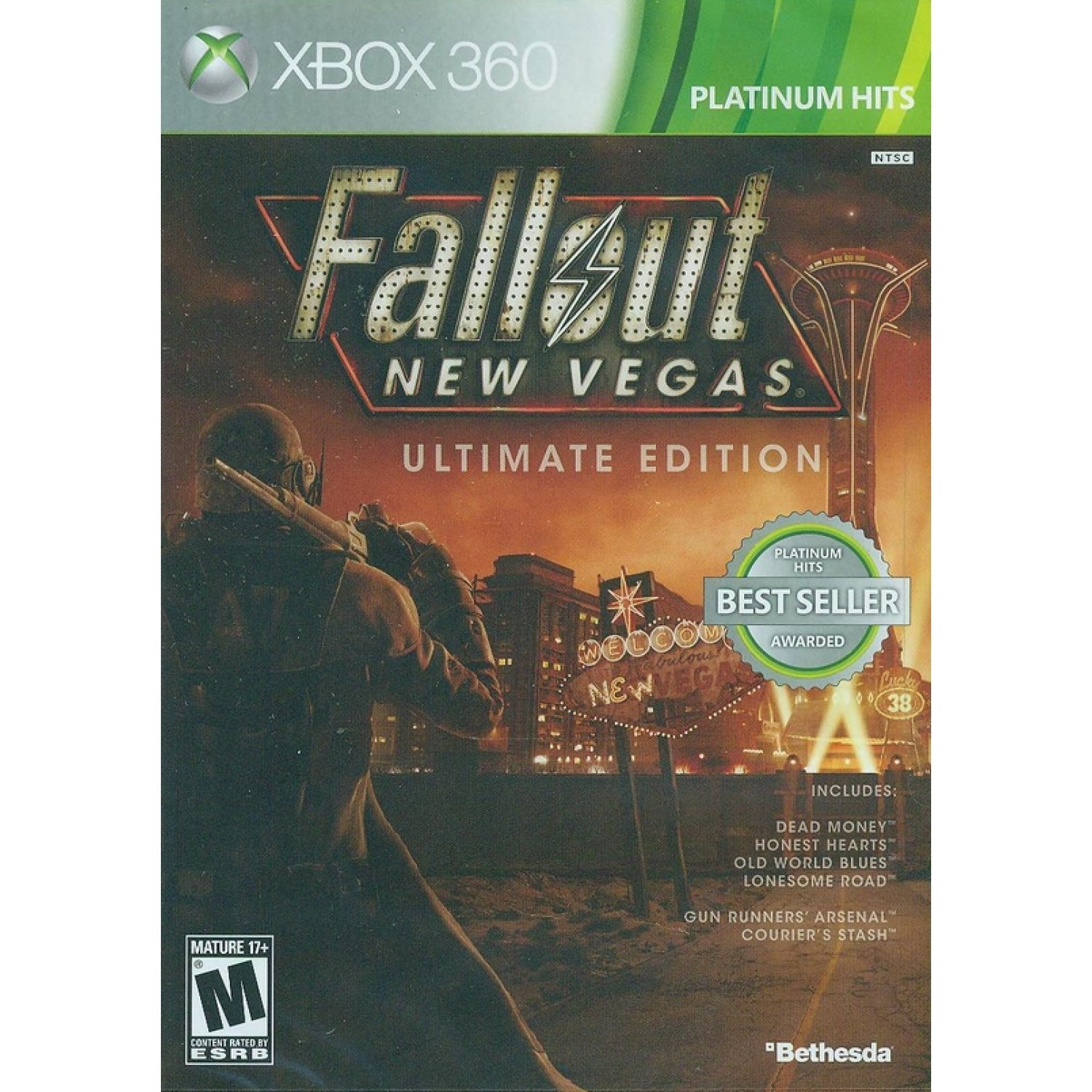 Fallout new vegas ultimate edition [ g2 case ] (xbox one) new.