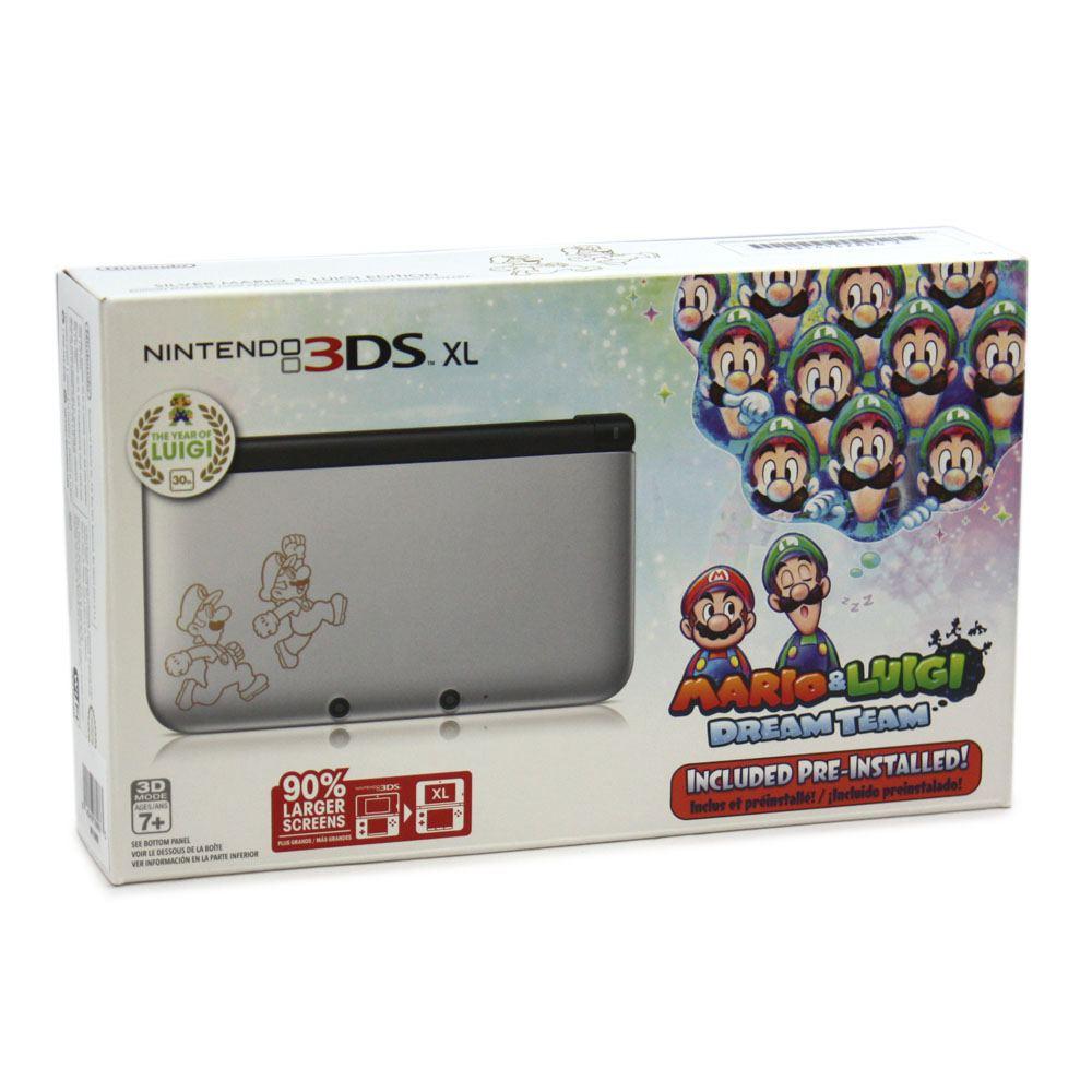 Nintendo 3ds Xl With Mario Luigi Dream Team Pre Installed