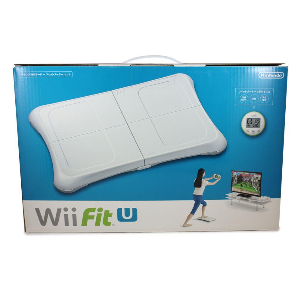 Balance Board Xbox One: Wii Fit U Wii Balance Board + Fit Meter Set (White & Green