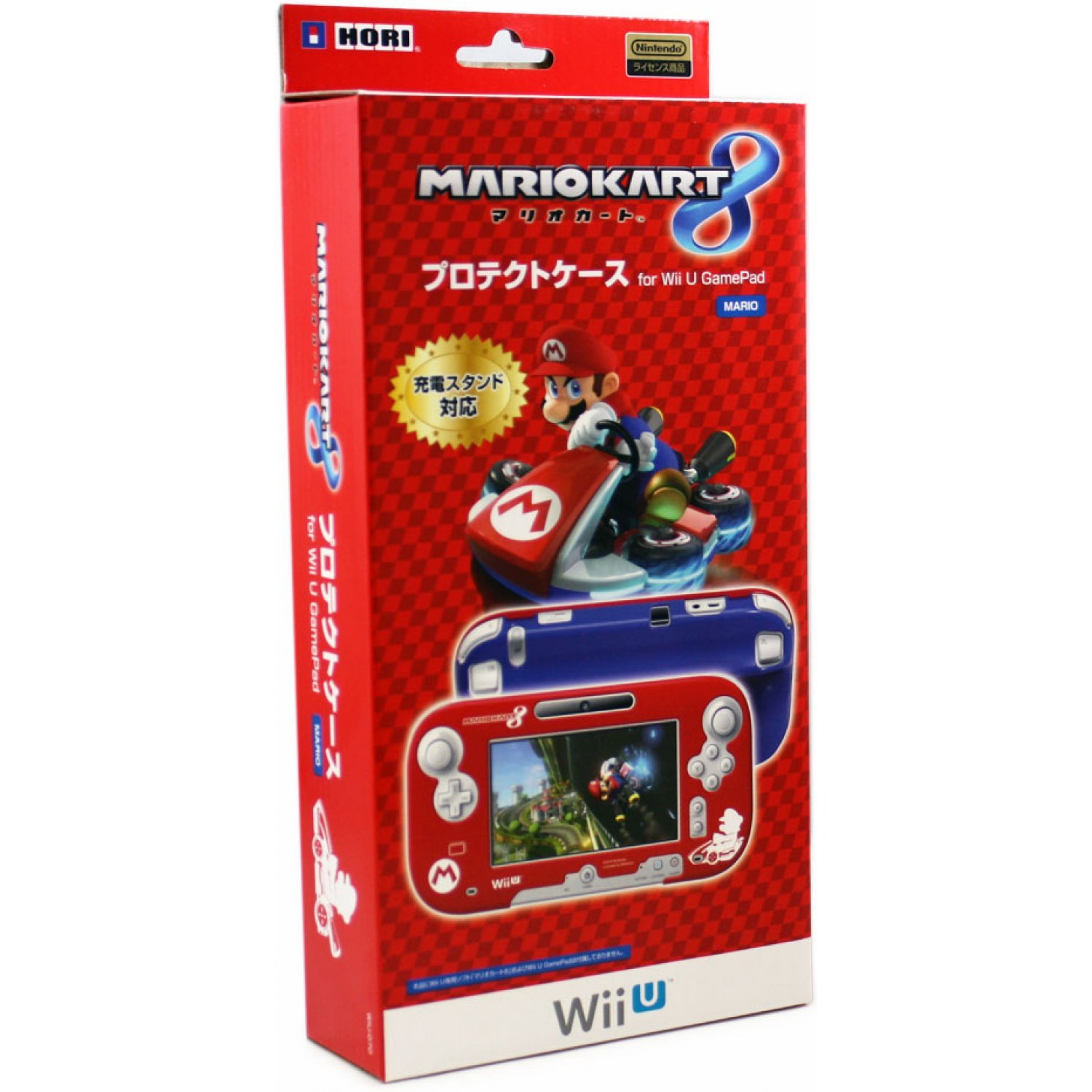mario kart 8 protect case for wii u gamepad mario. Black Bedroom Furniture Sets. Home Design Ideas