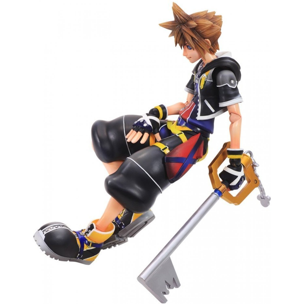 Sora Kingdom Hearts 1520074: Kingdom Hearts II Play Arts Kai: Sora