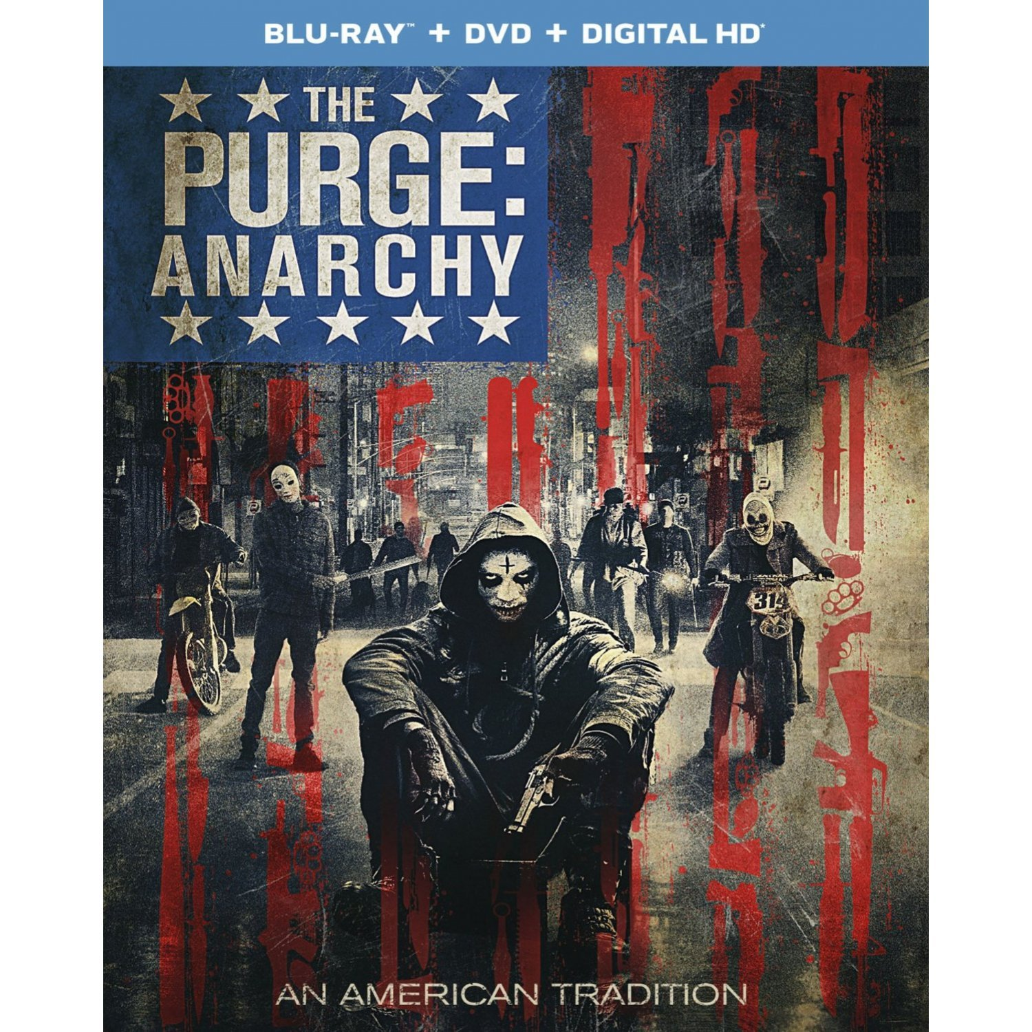 the purge: anarchy [blu-ray+dvd+digital copy+ultraviolet]