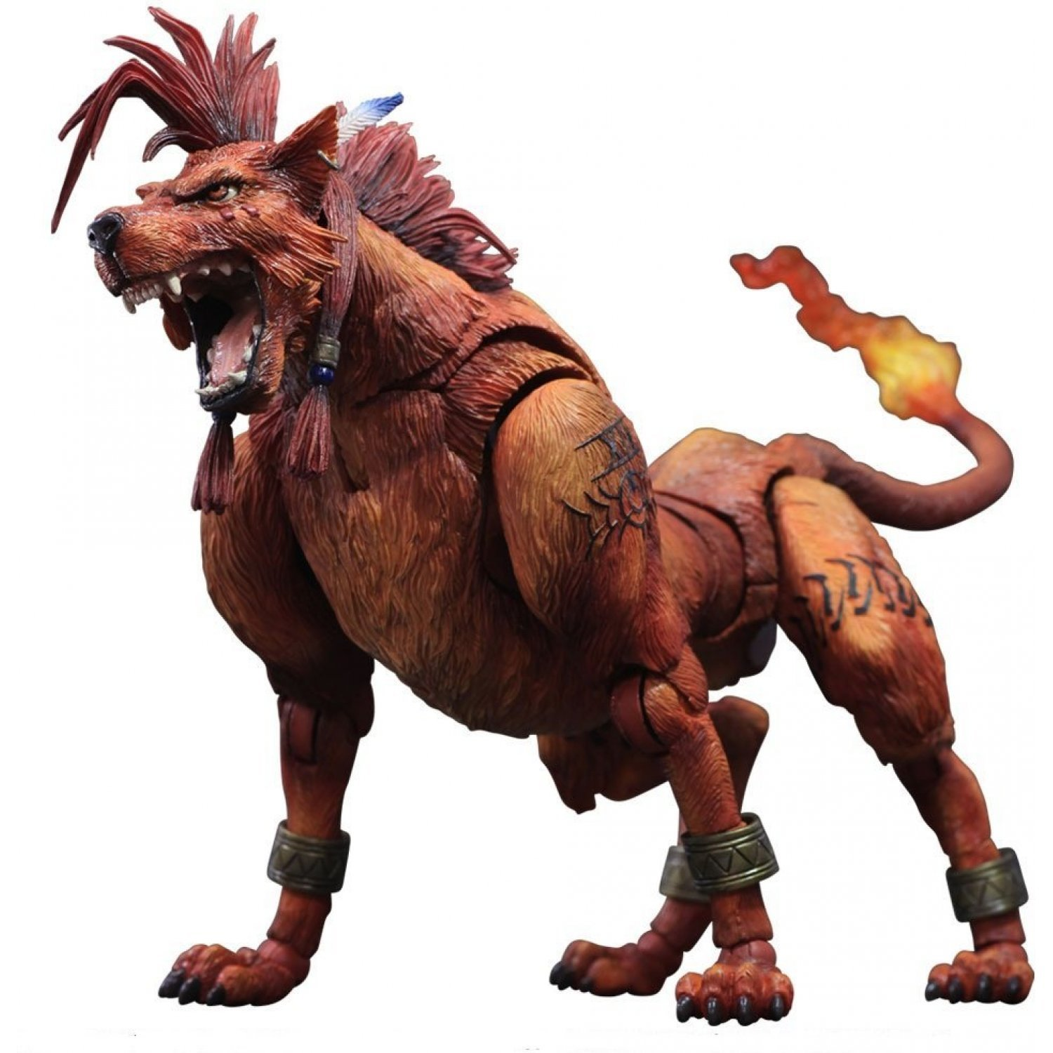 Final Consumers: Final Fantasy VII Advent Children Play Arts Kai: Red XIII