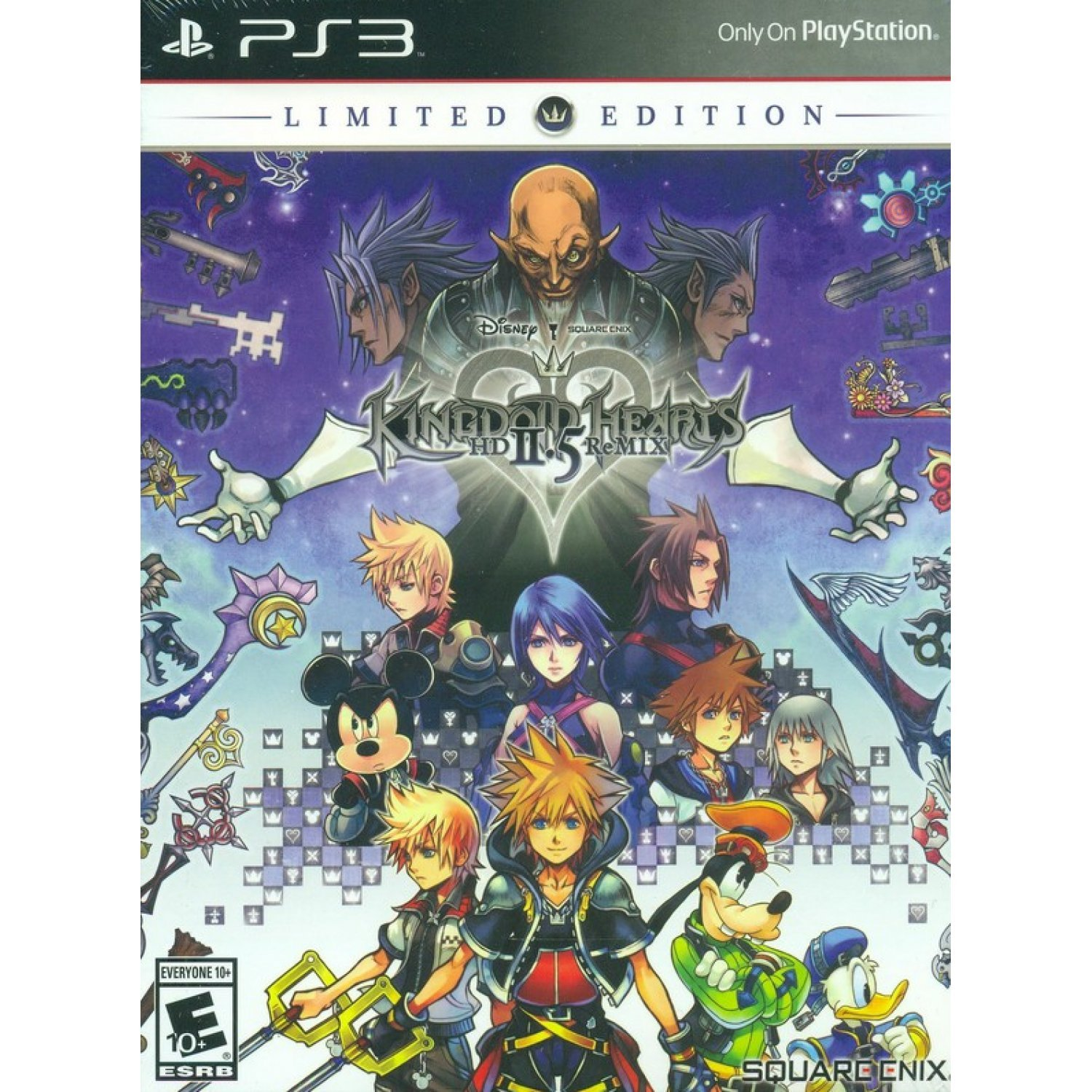 kingdom hearts 1.5 and 2.5 ps4 special edition