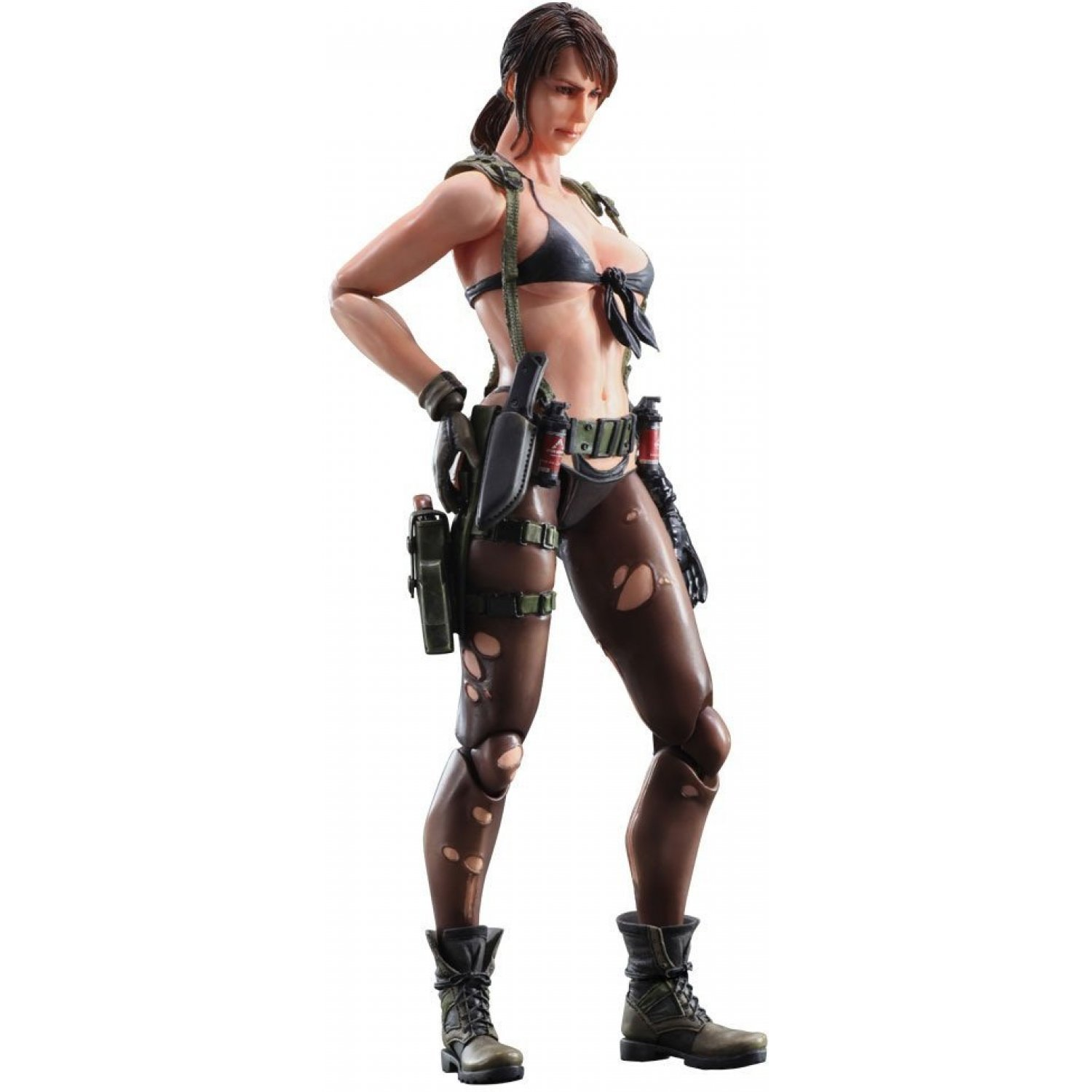 Metal Gear Solid V The Phantom Pain Play Arts Kai Quiet