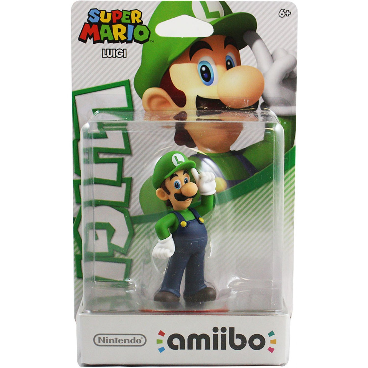 Amiibo Super Mario Series Figure Luigi