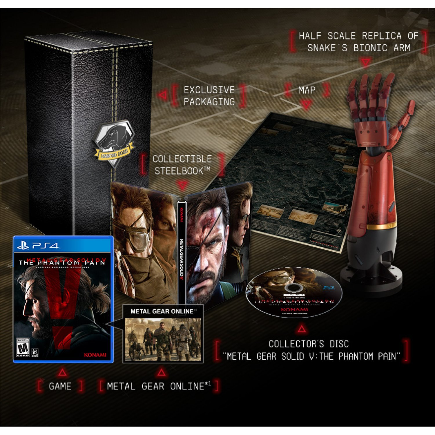 Metal gear solid v: the phantom pain (collector's edition).