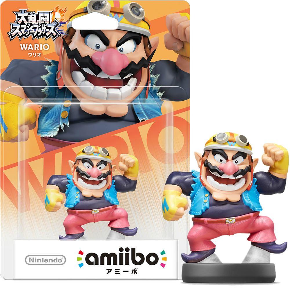 amiibo Super Smash Bros. Series Figure (Wario) (Re-run)