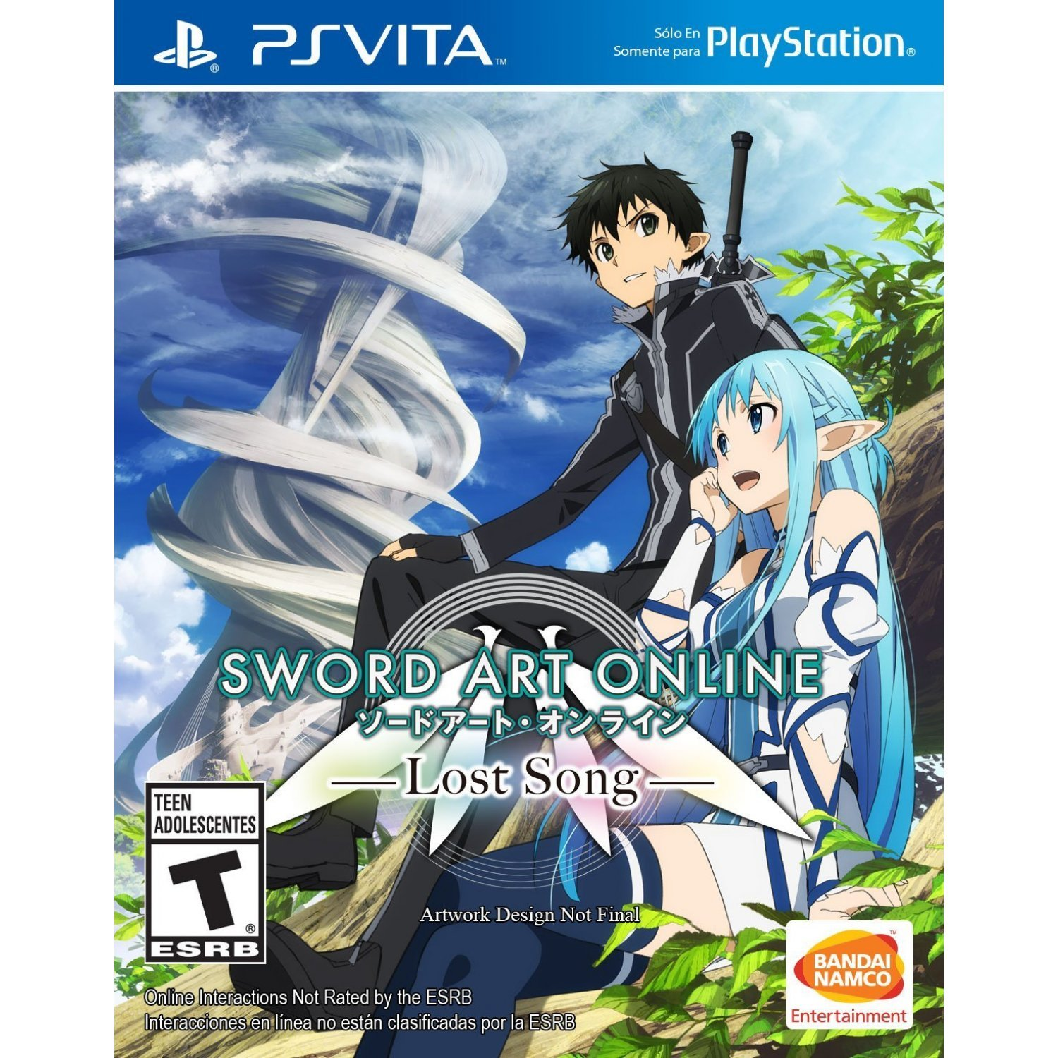 Image result for lost song sword art online
