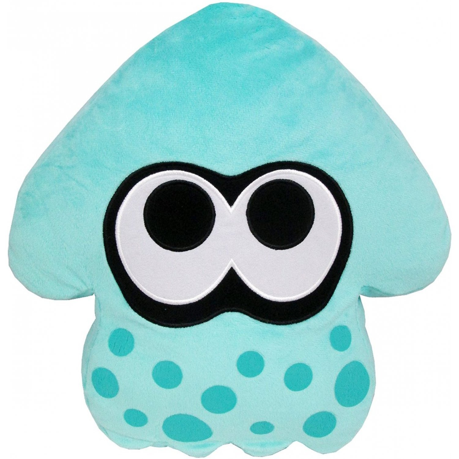 splatoon plush turquoise splatoon squid cushion re run. Black Bedroom Furniture Sets. Home Design Ideas