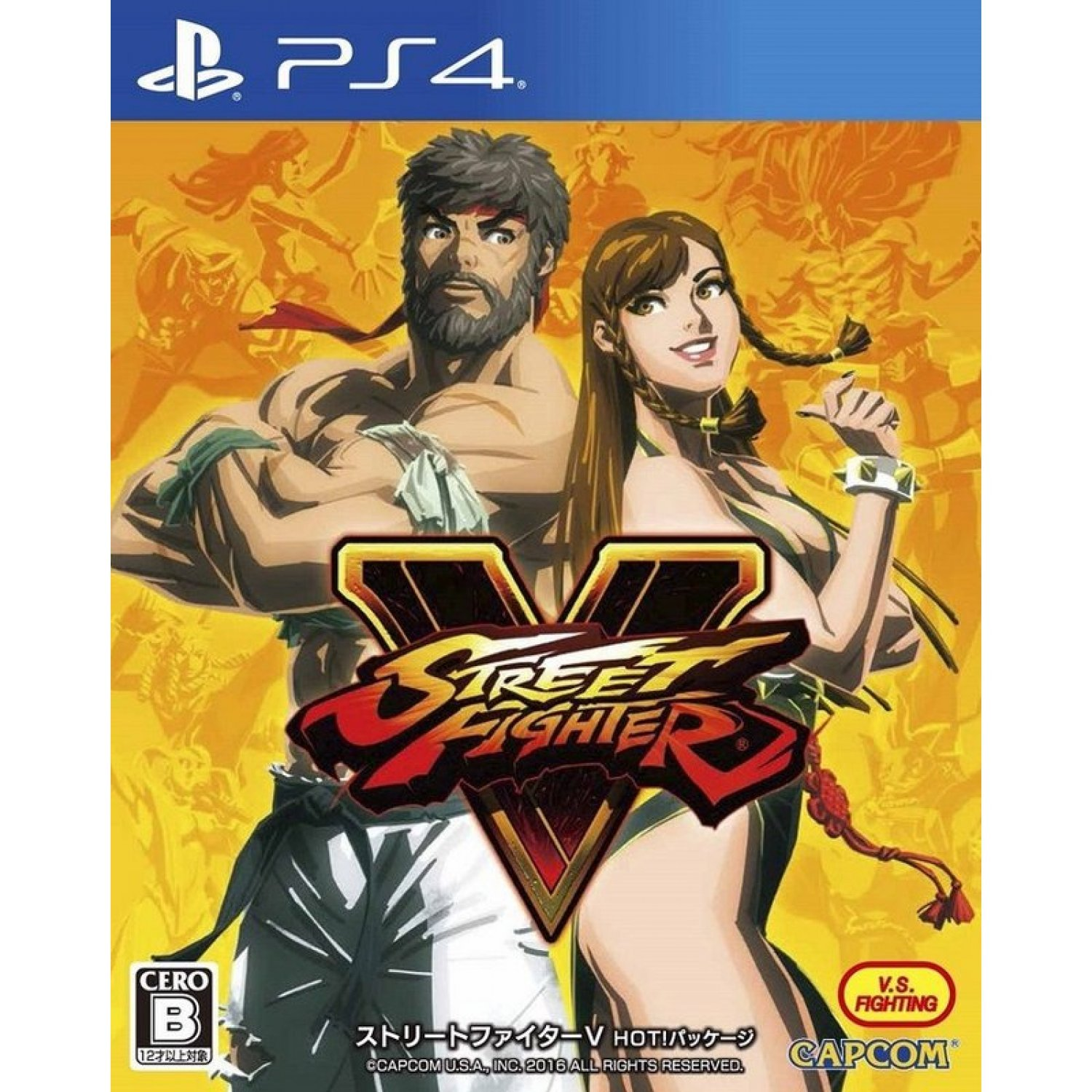 Street Fighter V Hot Package