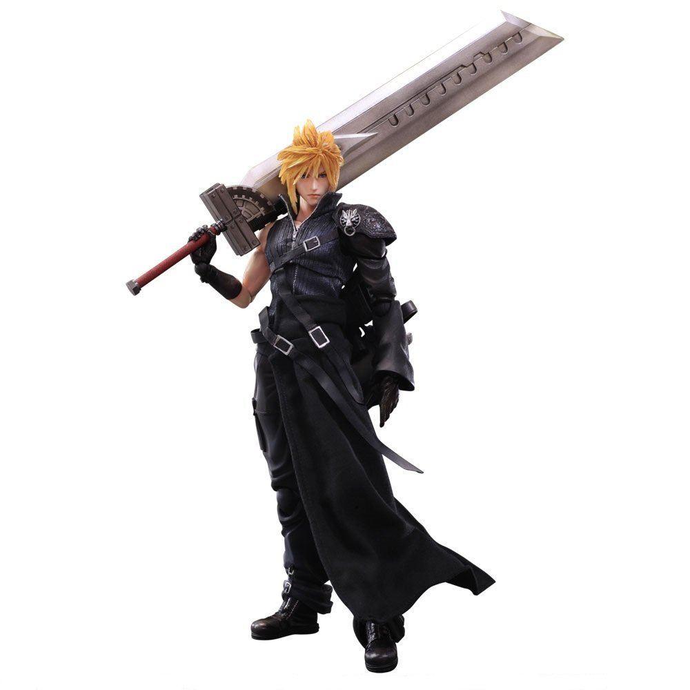 Final Consumers: Final Fantasy VII Advent Children Play Arts Kai: Cloud
