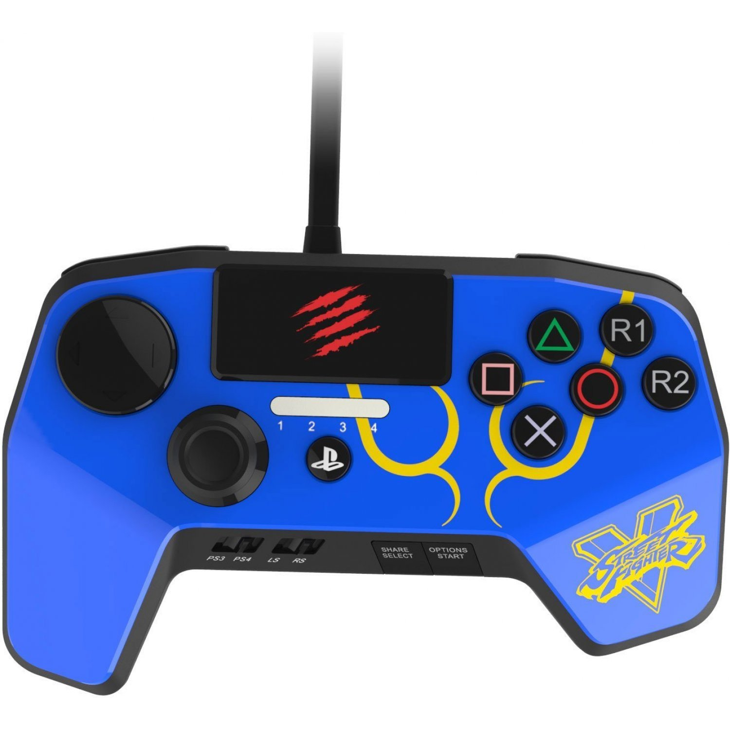 Street Fighter V Fightpad Pro Chun Li Blue