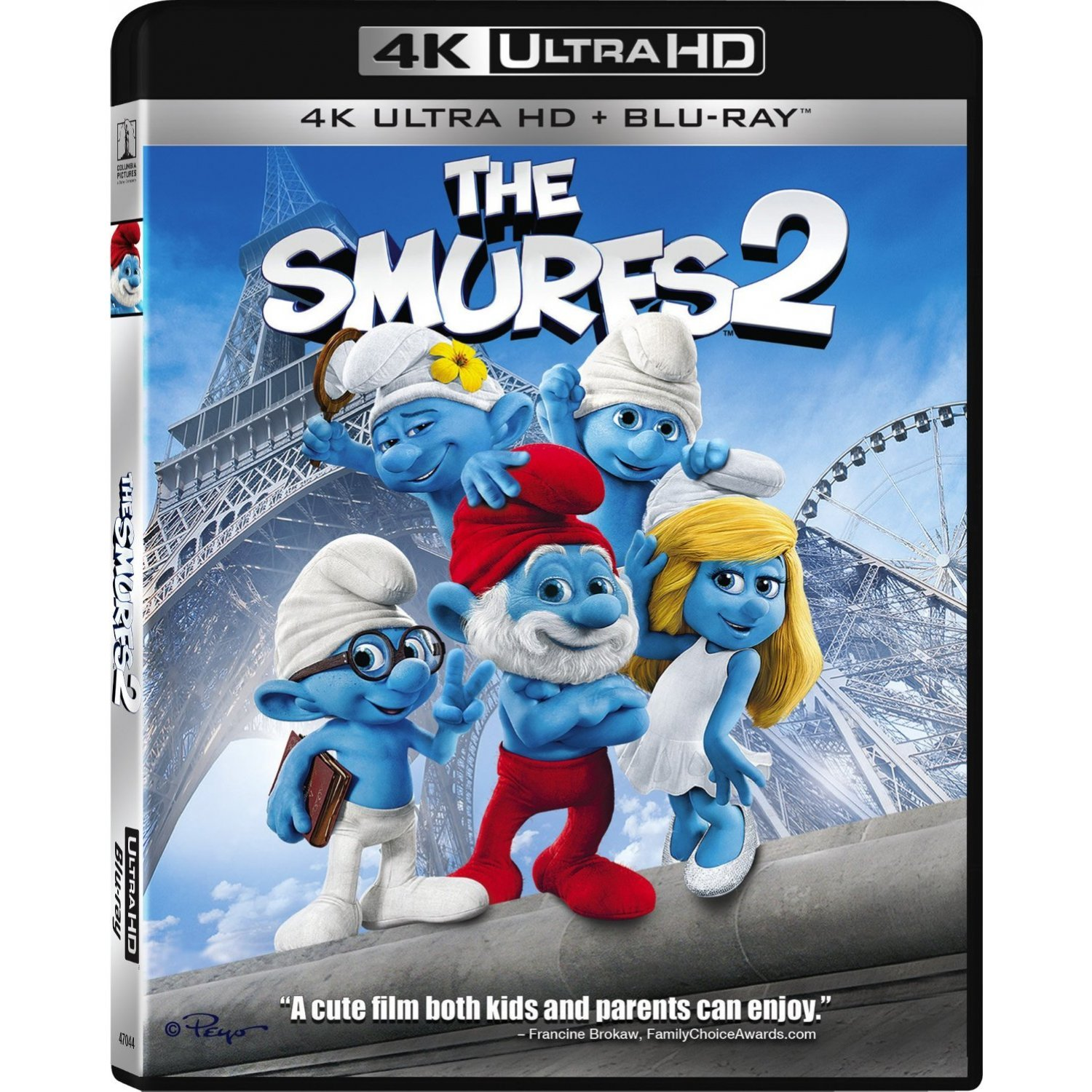 the smurfs 2 [4k uhd blu-ray] playstation® network download