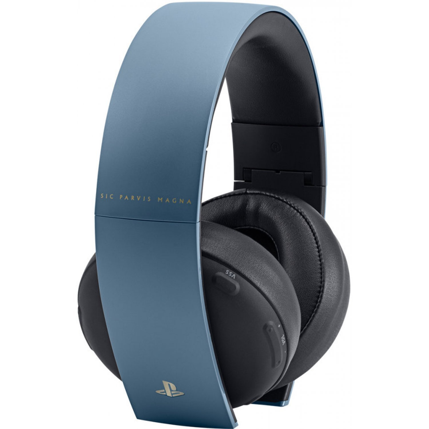 PlayStation Gold Wireless Headset - Gray Blue (Uncharted 4 Limited ...