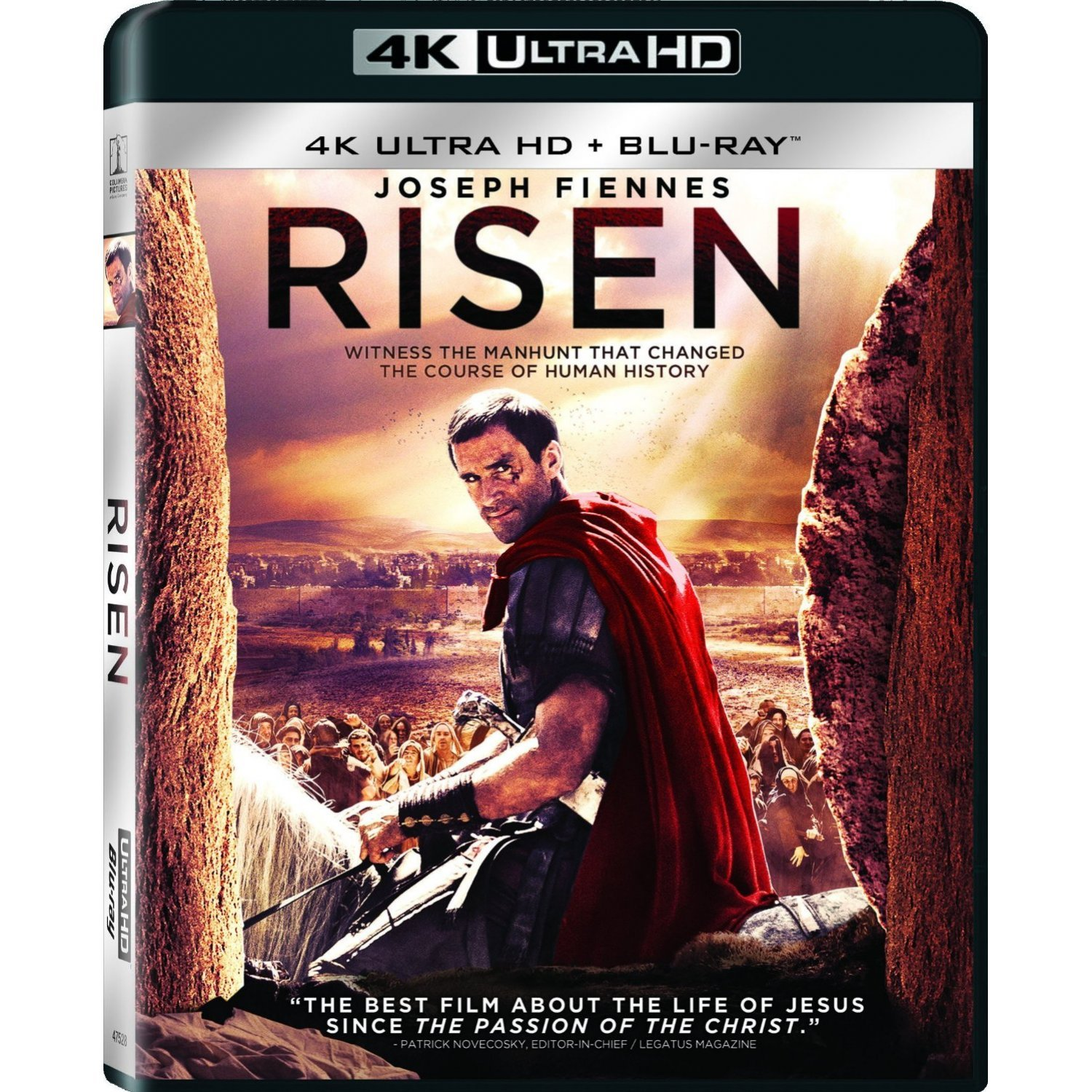 risen 4k uhd blu ray. Black Bedroom Furniture Sets. Home Design Ideas