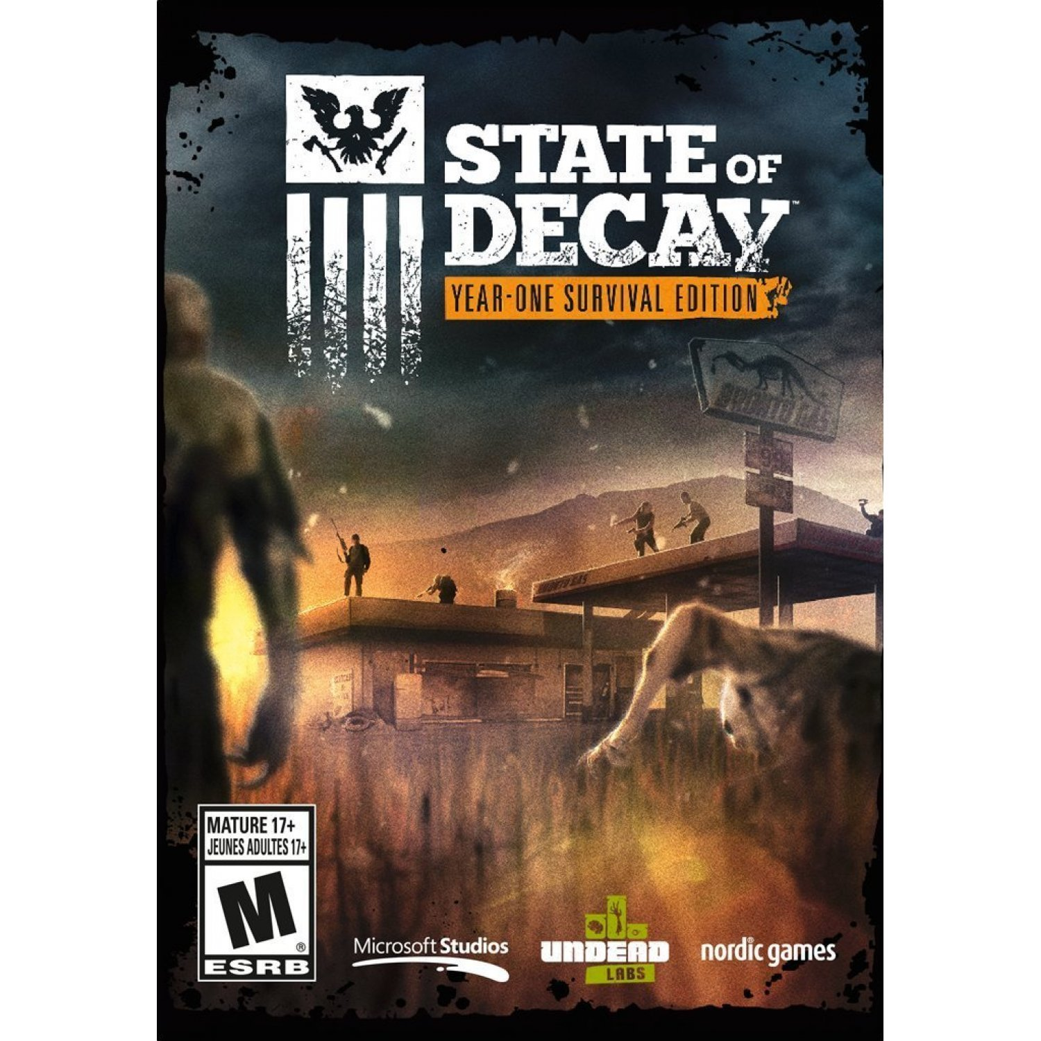 State Of Decay Year One Survival Edition Dvd Rom