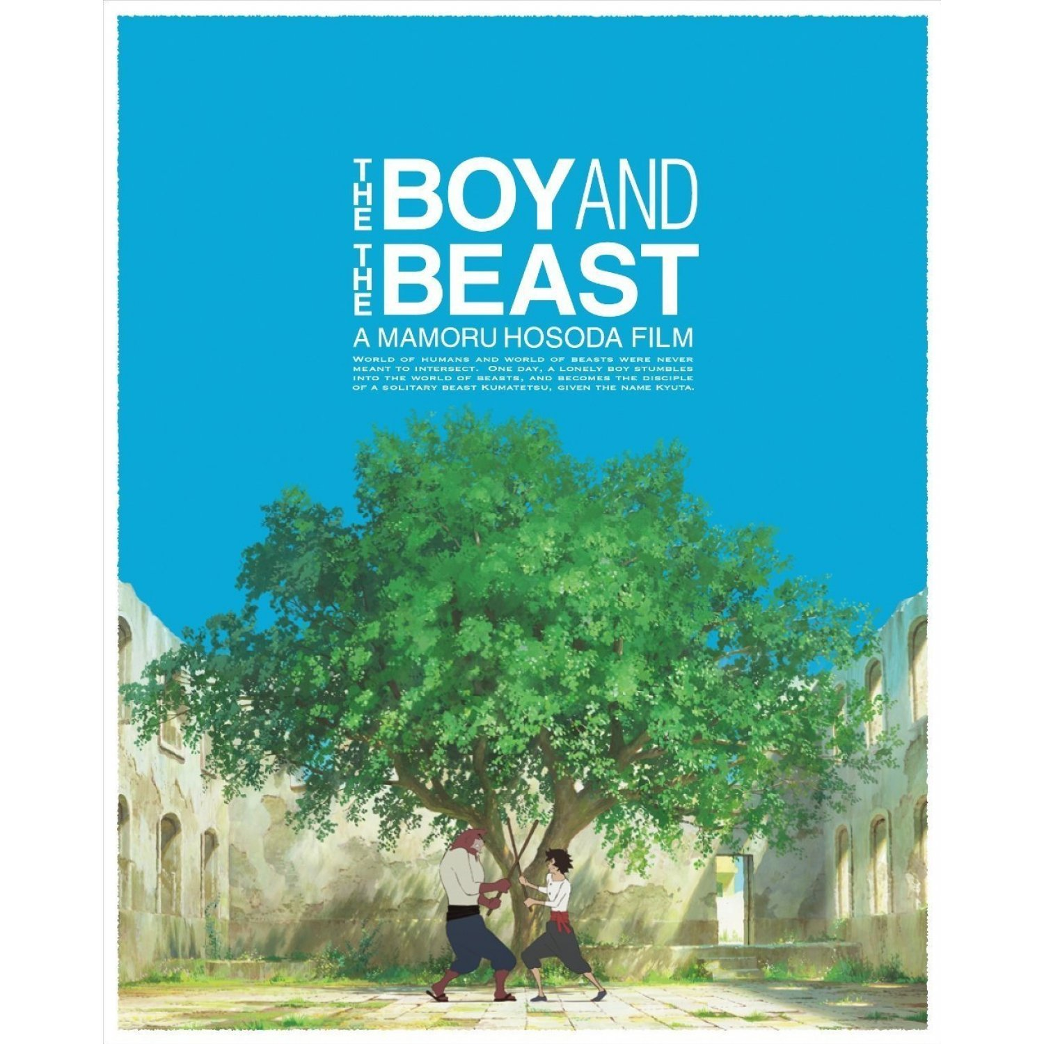 The Boy and the Beast released on DVD and limited edition Blu-ray!