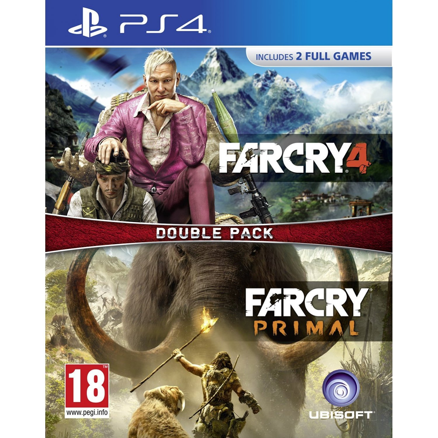 Far Cry 4 Far Cry Primal Double Pack