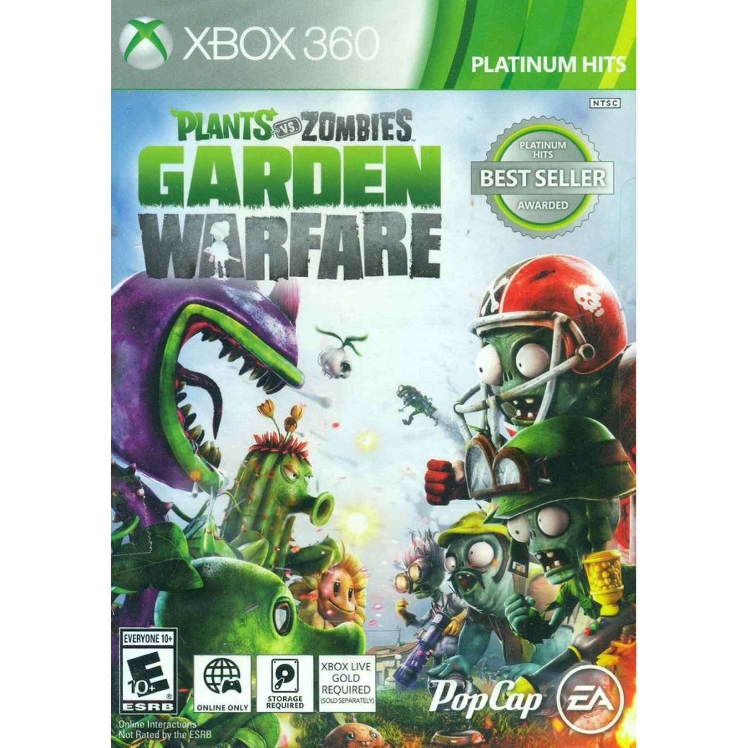 plants vs zombies garden warfare platinum hits - Plants Vs Zombies Garden Warfare Xbox 360