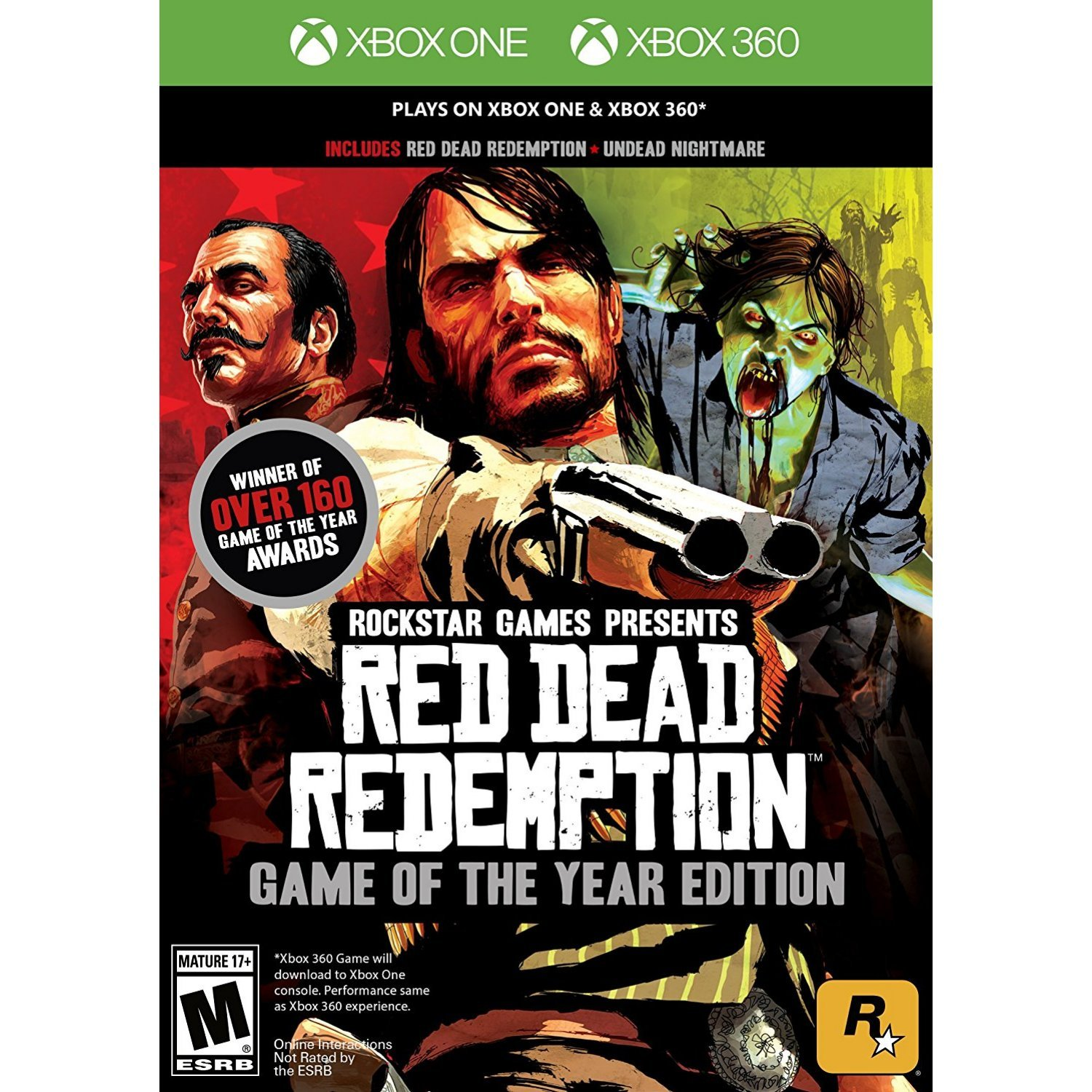 Red dead redemption game of the year edition (xbox one/xbox 360.