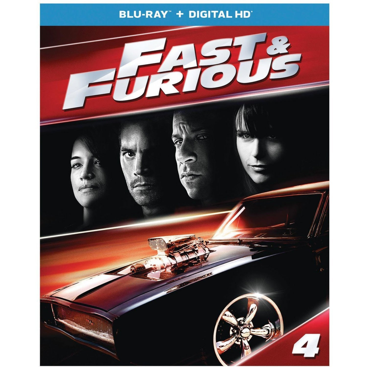 fast and furious 2009 blu ray digital hd. Black Bedroom Furniture Sets. Home Design Ideas