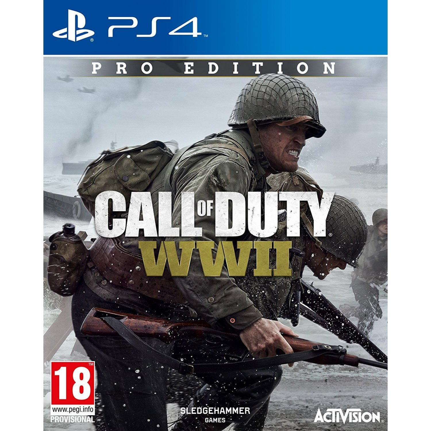 Call Of Duty Wwii Pro Edition Sony Playstation 4 Ps4 Cod Limited Non Dvd