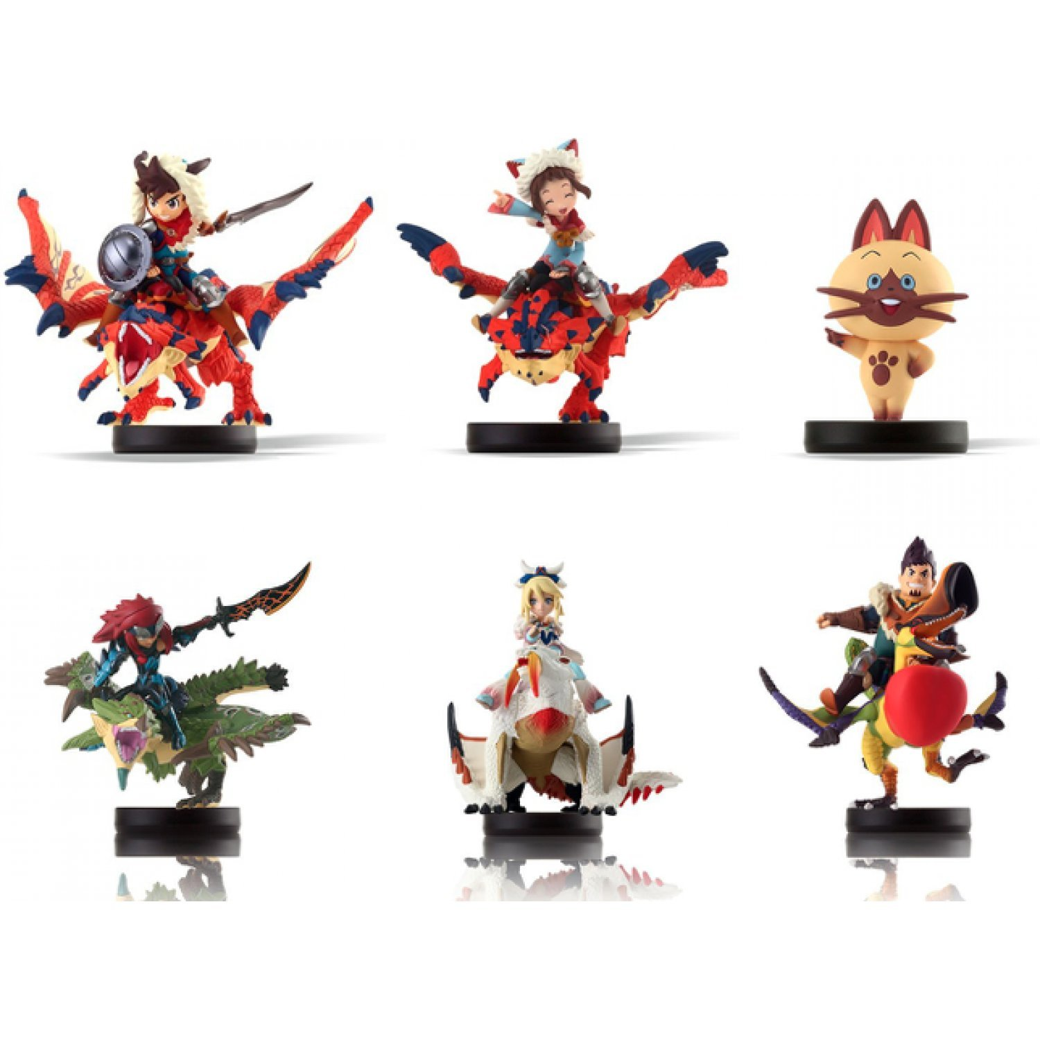 Amiibo Monster Hunter Stories Series Figure Special
