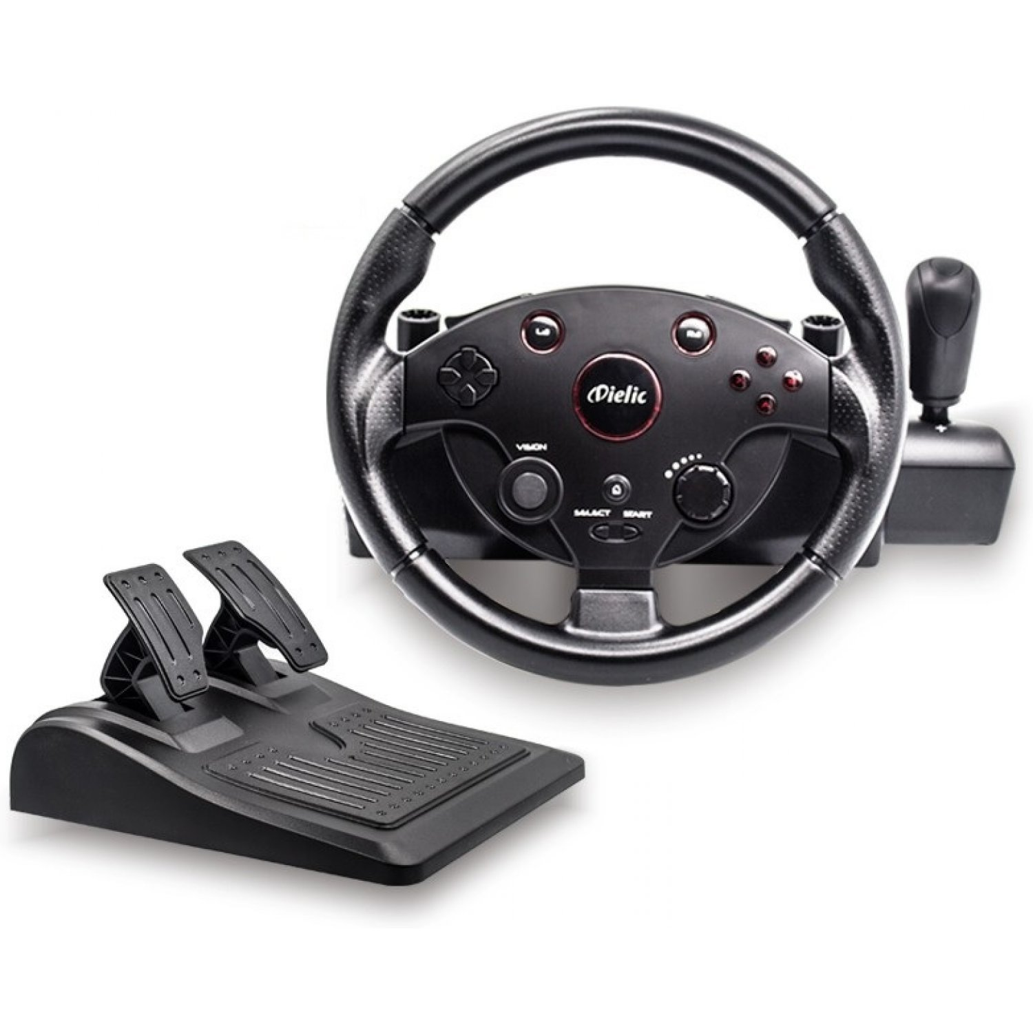 quint 5in1 racing wheel for ps4 ps3 pc xbox one xbox360. Black Bedroom Furniture Sets. Home Design Ideas