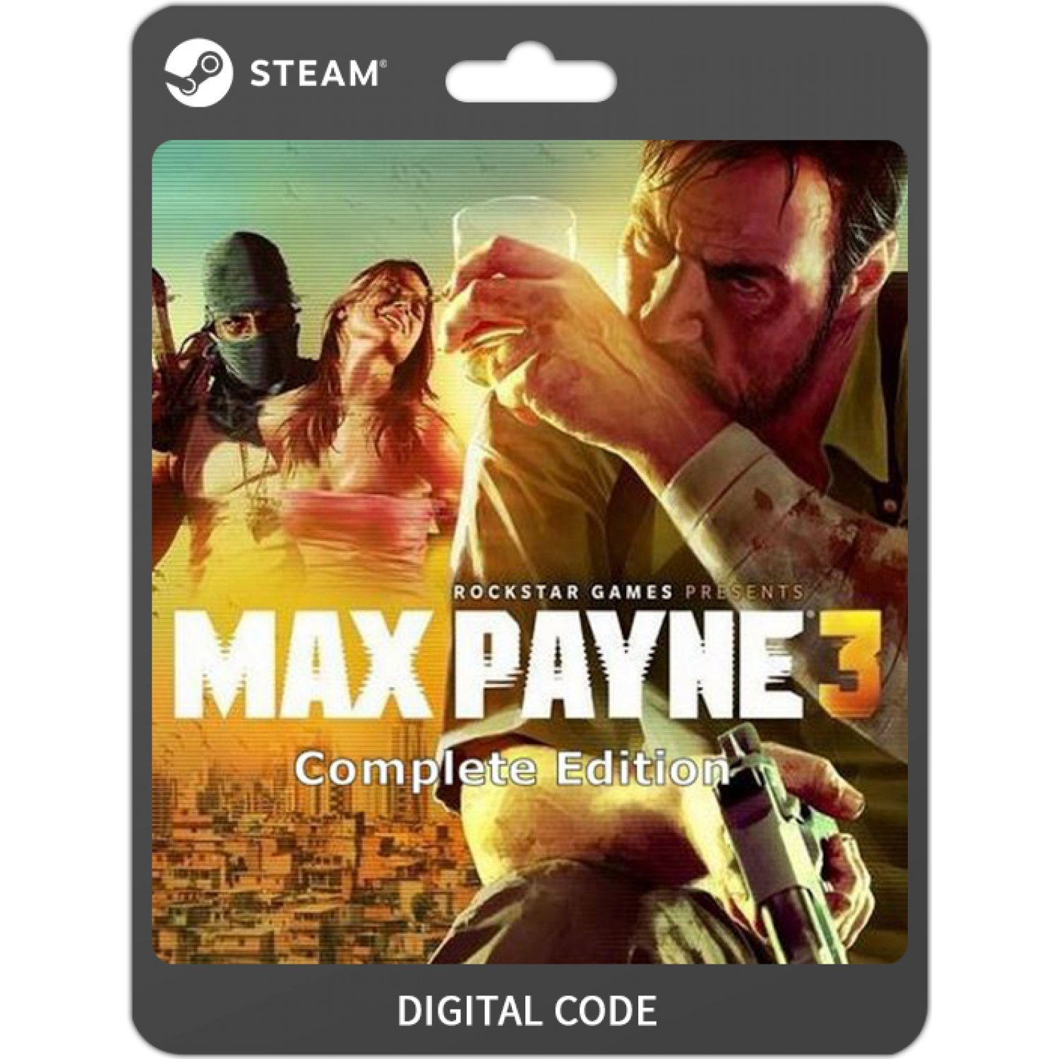 Max Payne 3 Complete Edition Steam Digital