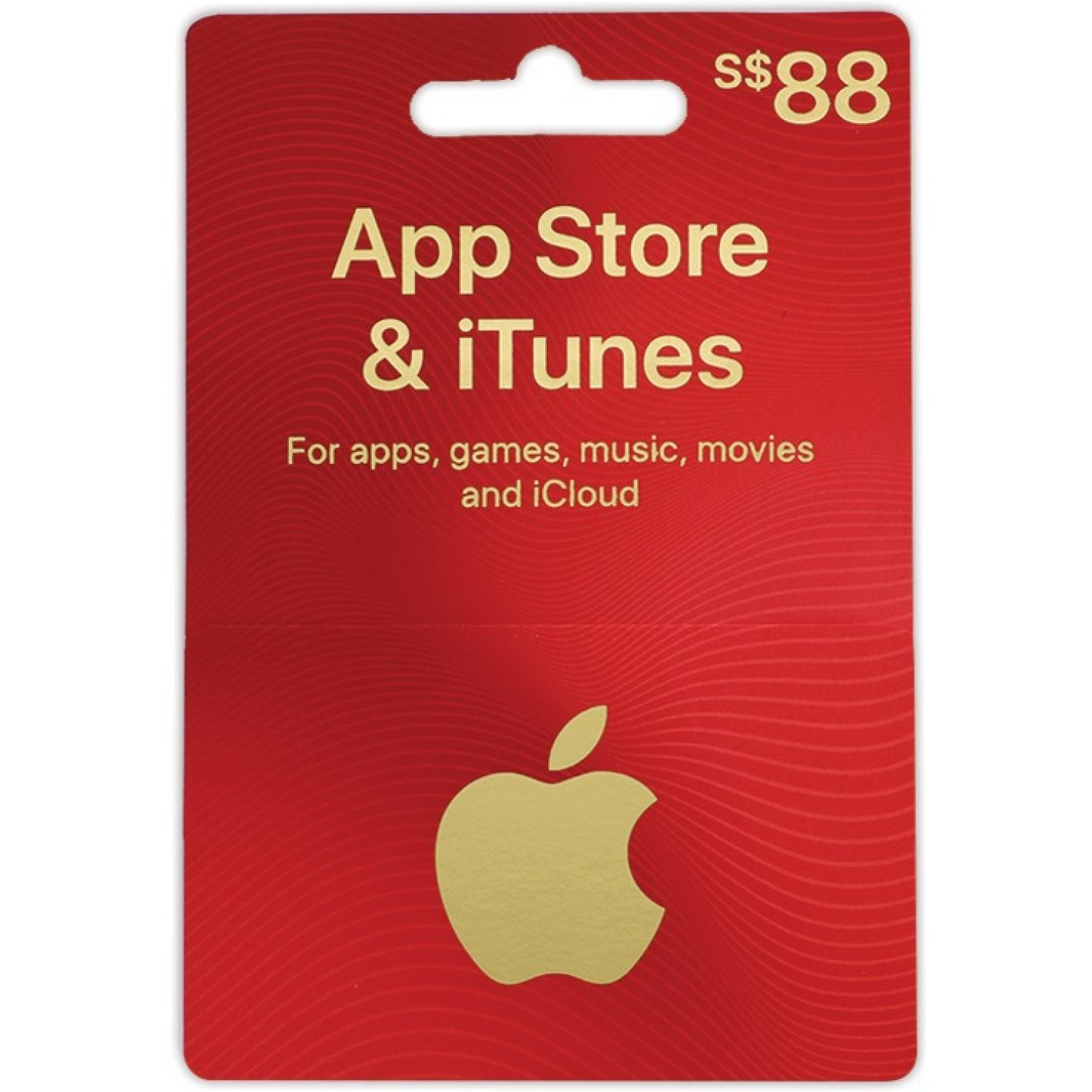 iTunes Card (SGD 88 / for Singapore accounts only) digital