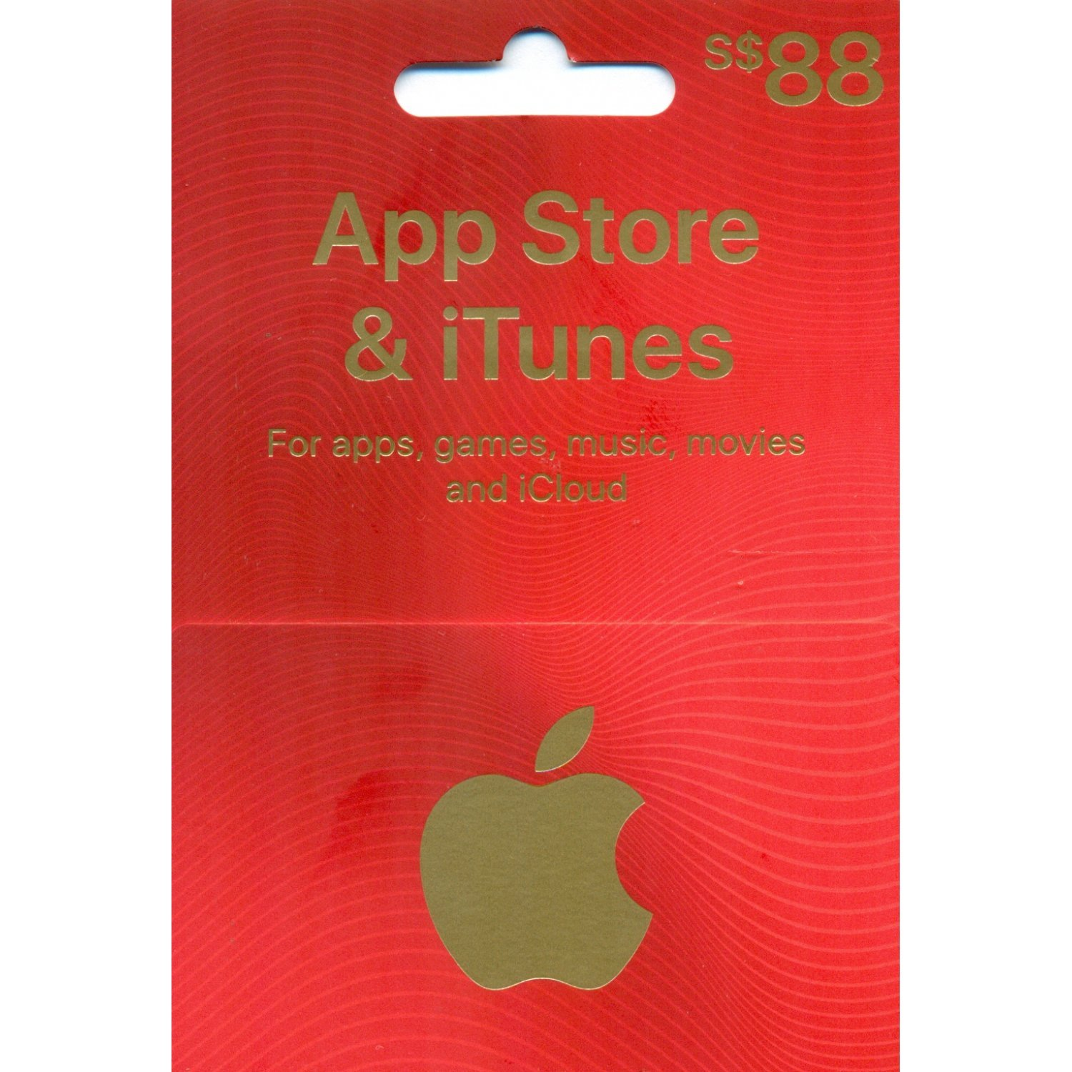 iTunes Card (SGD$ 88 / for Singapore accounts only) Digital