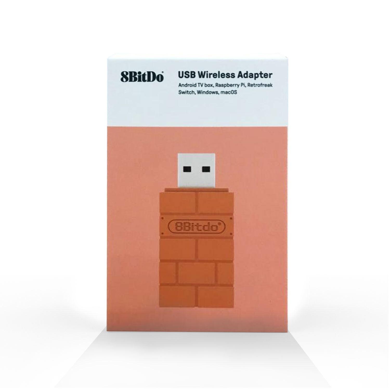 8Bitdo Wireless Bluetooth Adapter for Windows / Mac / Raspberry Pi &  Nintendo Switch