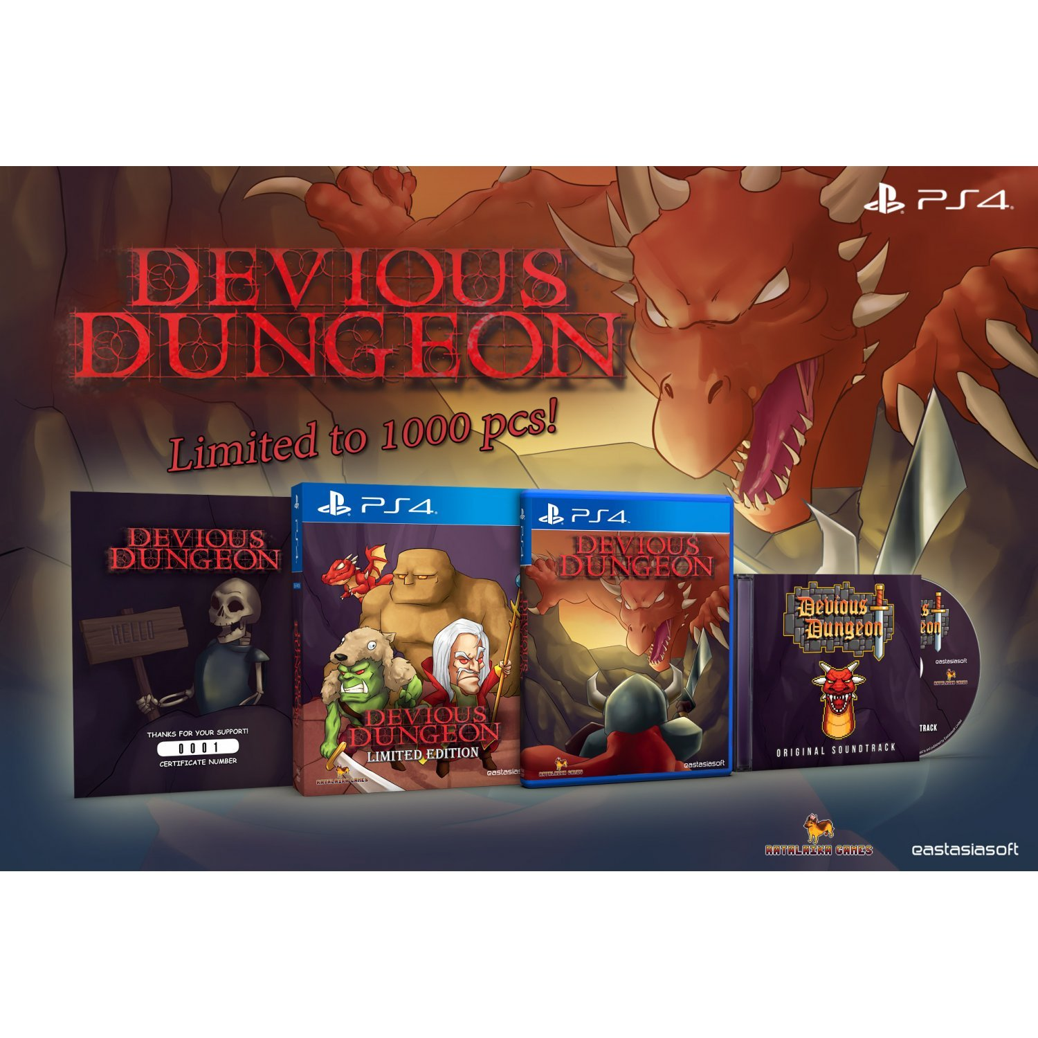 Devious Dungeon - PS4 - Play-Asia Devious-dungeon-limited-edition-569245.7