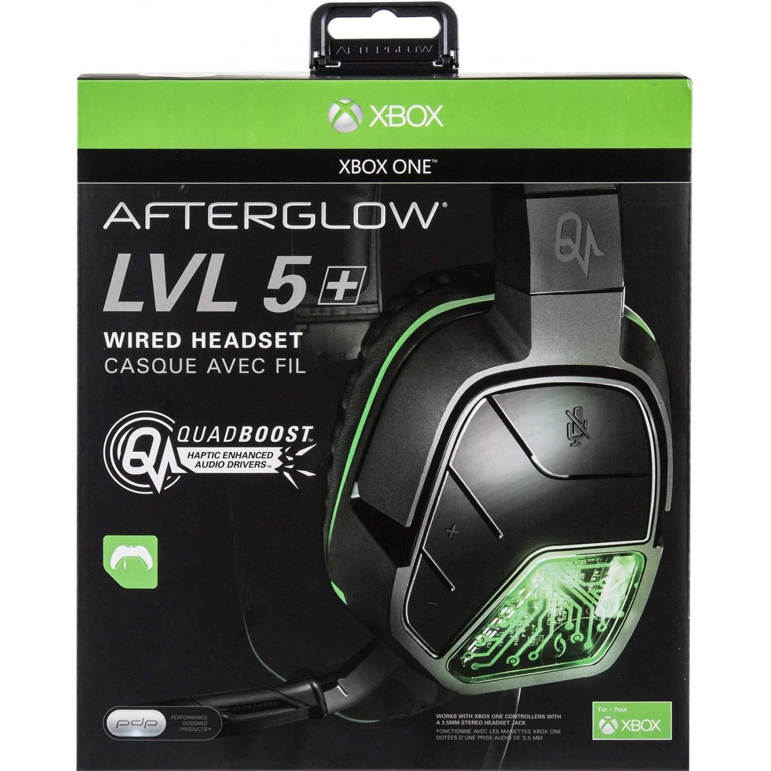 Pdp Afterglow Lvl5 Stereo Headset For Xbox One