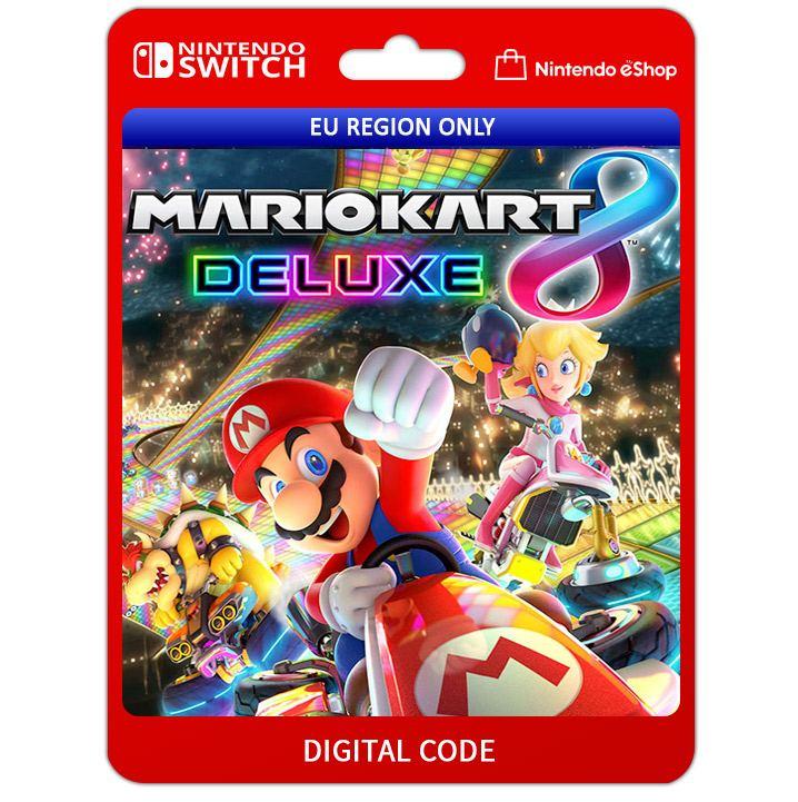 Mario Kart 8 Deluxe Nintendo Switch Digital Digital