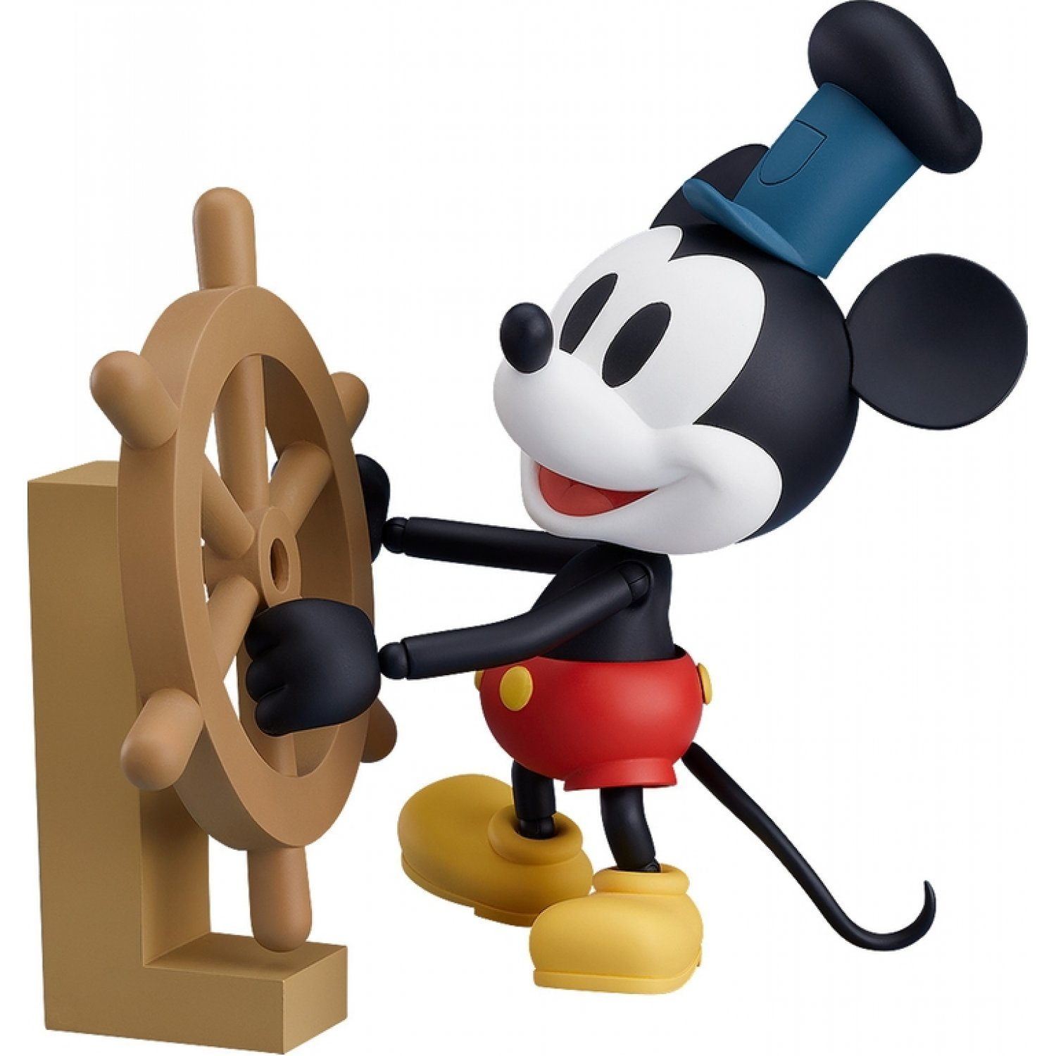 Nendoroid No 1010b Steamboat Willie Mickey Mouse 1928 Ver Color