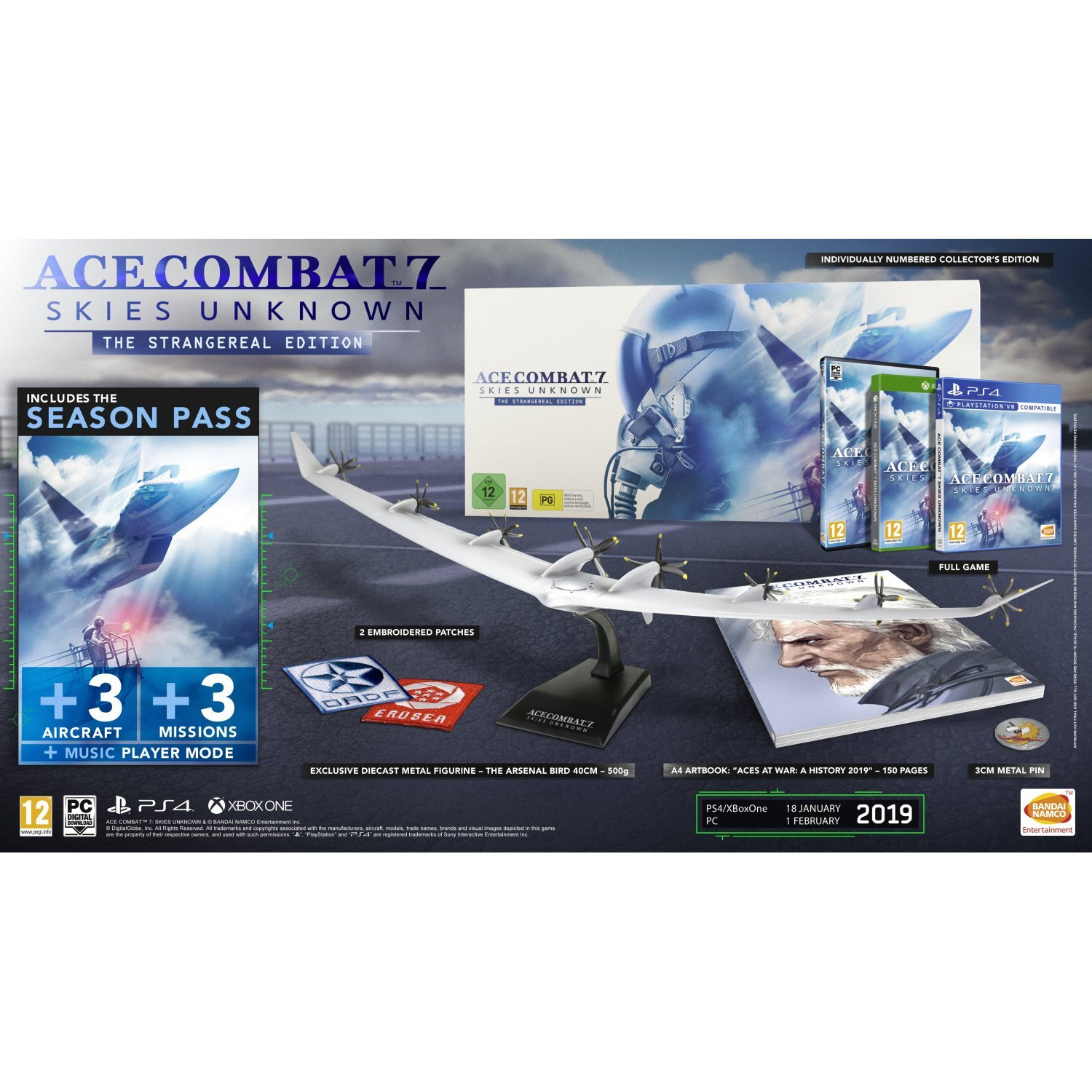 ace combat 7 strangereal edition pc