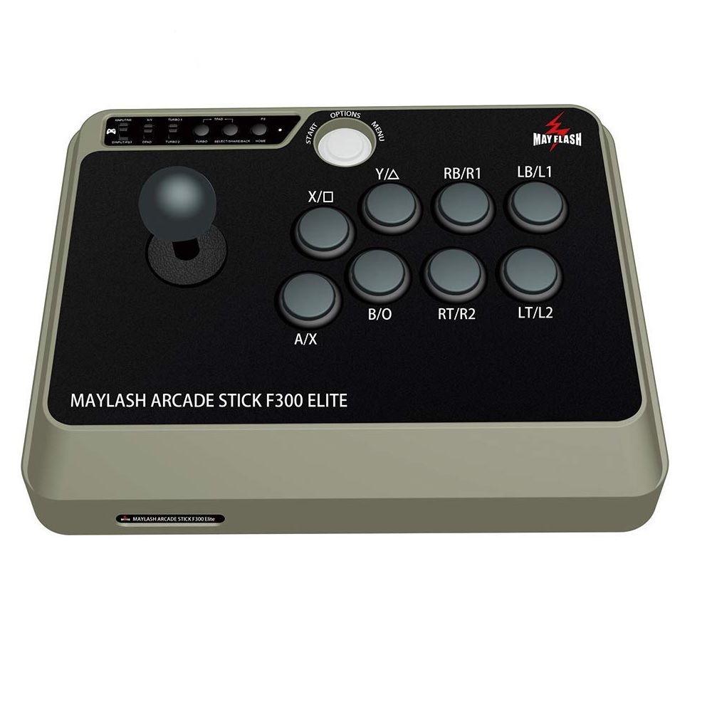 Mayflash Arcade Stick F300 Elite SanWa Buttons