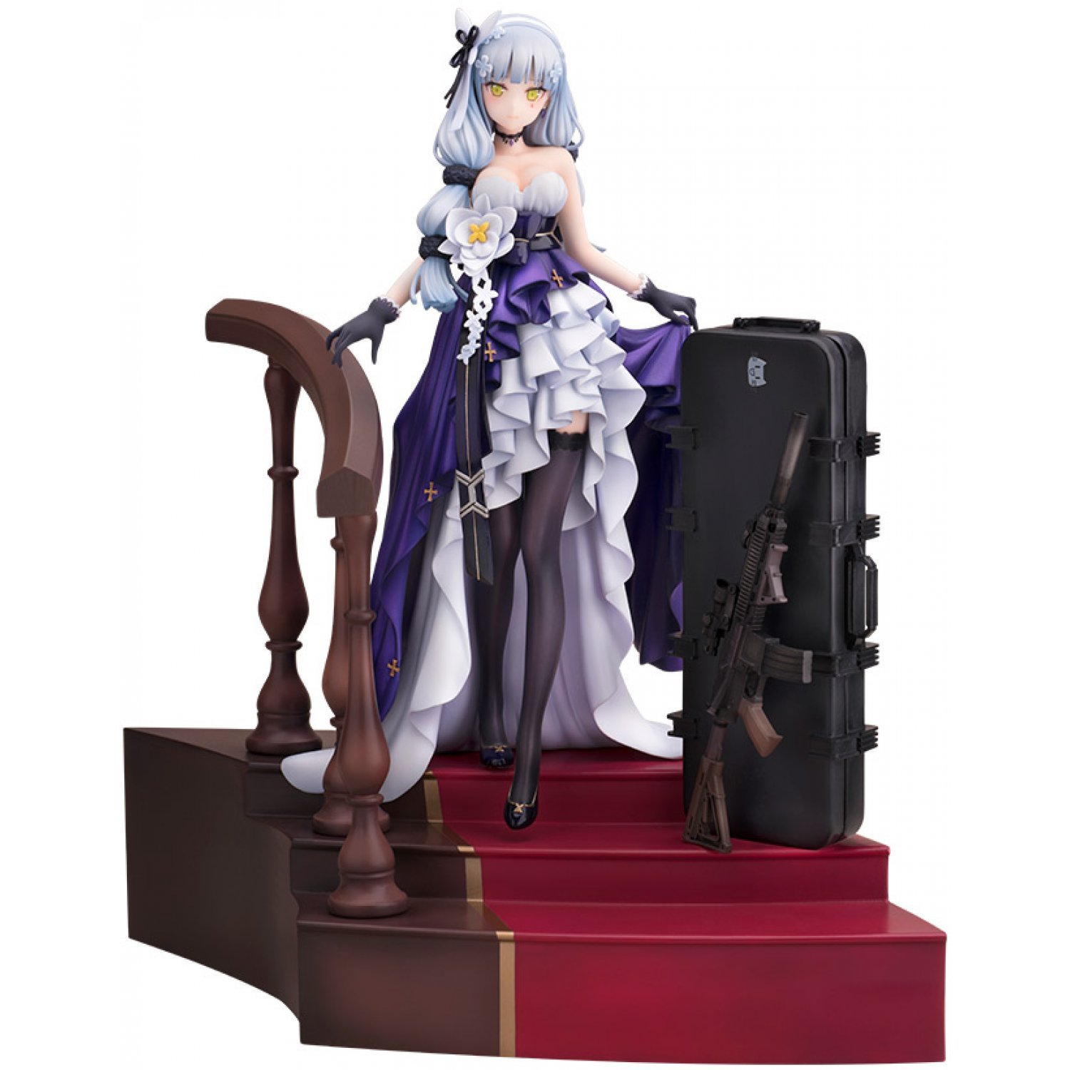 cceb7999fe Girls' Frontline 1/8 Scale Pre-Painted Figure: HK416 Star Cocoon Ver.
