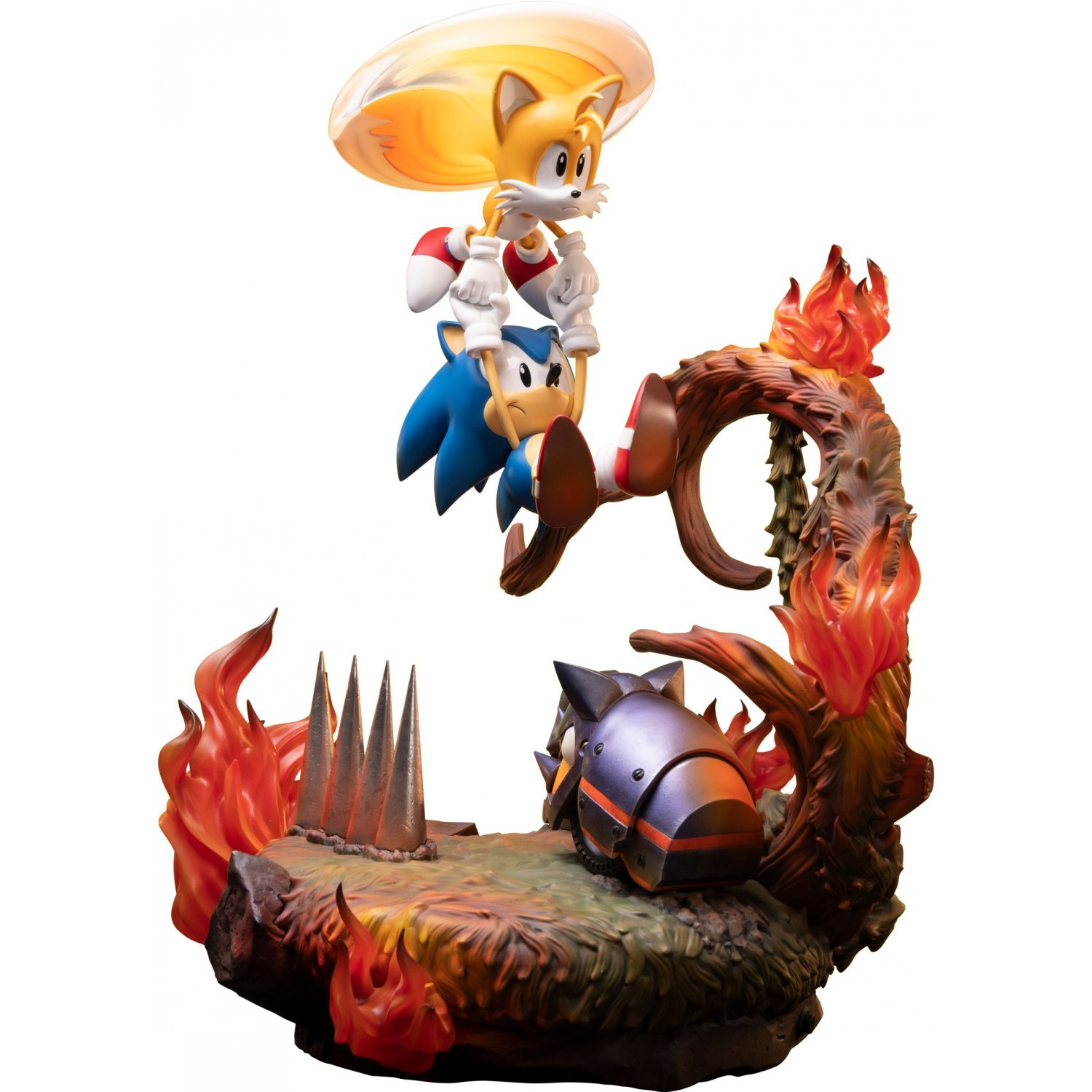 Sonic The Hedgehog Statue Sonic And Tails Standard Edition