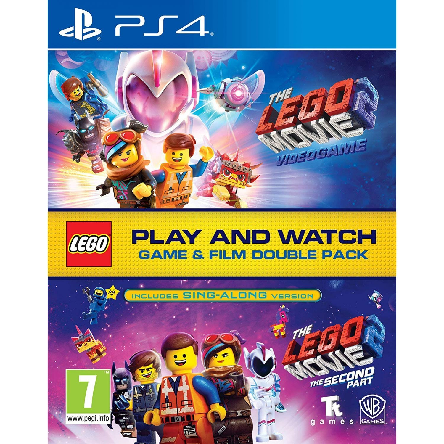 Lego Movie 2 Game Film Double Pack