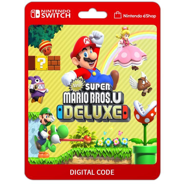 New Super Mario Bros U Deluxe Nintendo Switch Digital Digital