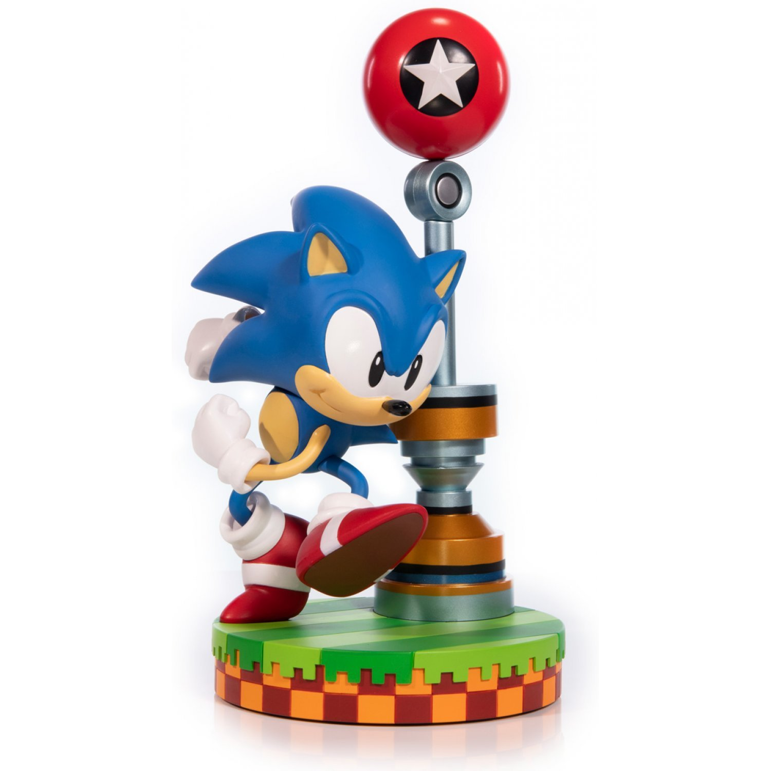 F4F sonic the hedgehog Sonic-the-hedgehog-pvc-painted-statue-sonic-standard-edition-616509.2