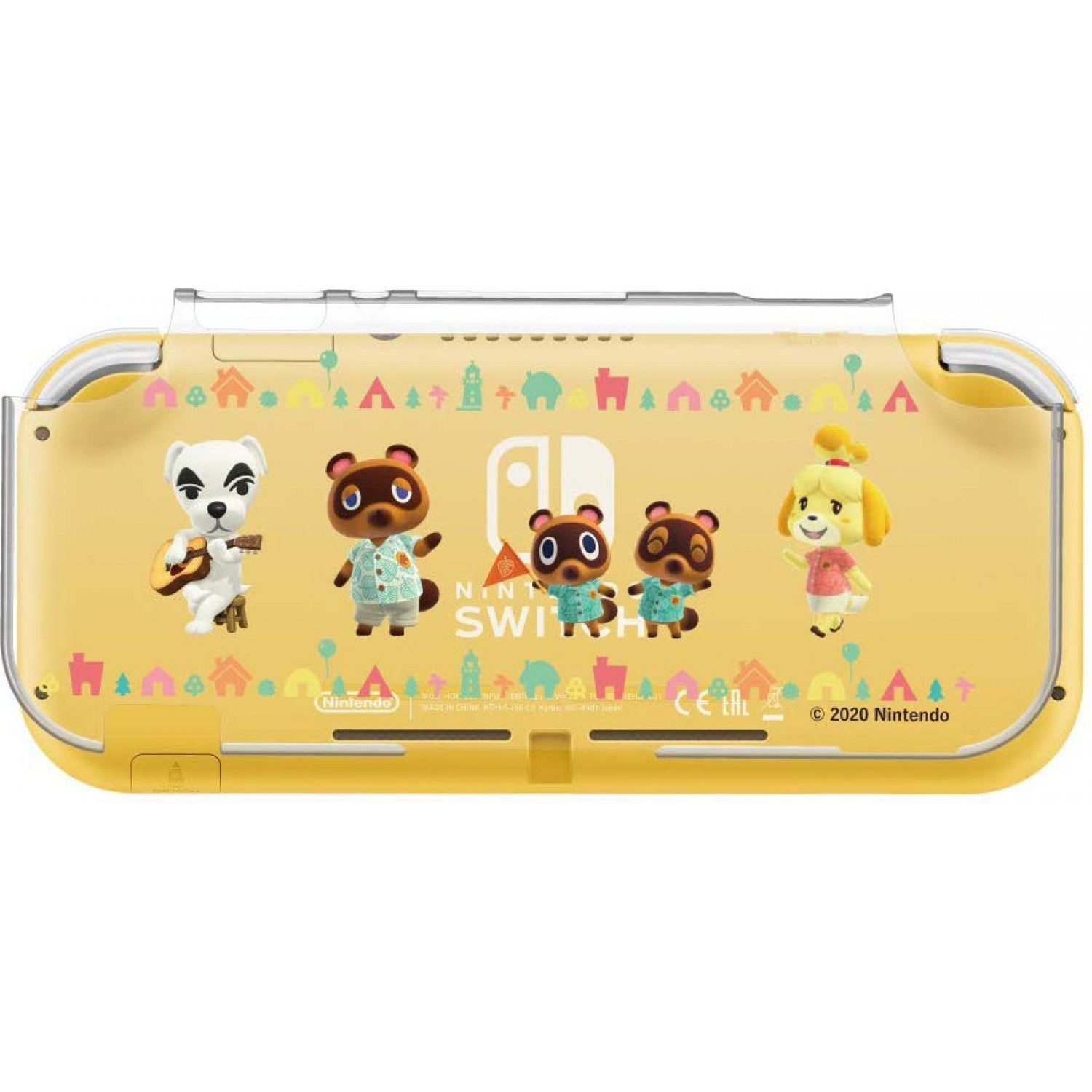 Hard Cover For Nintendo Switch Lite Animal Crossing