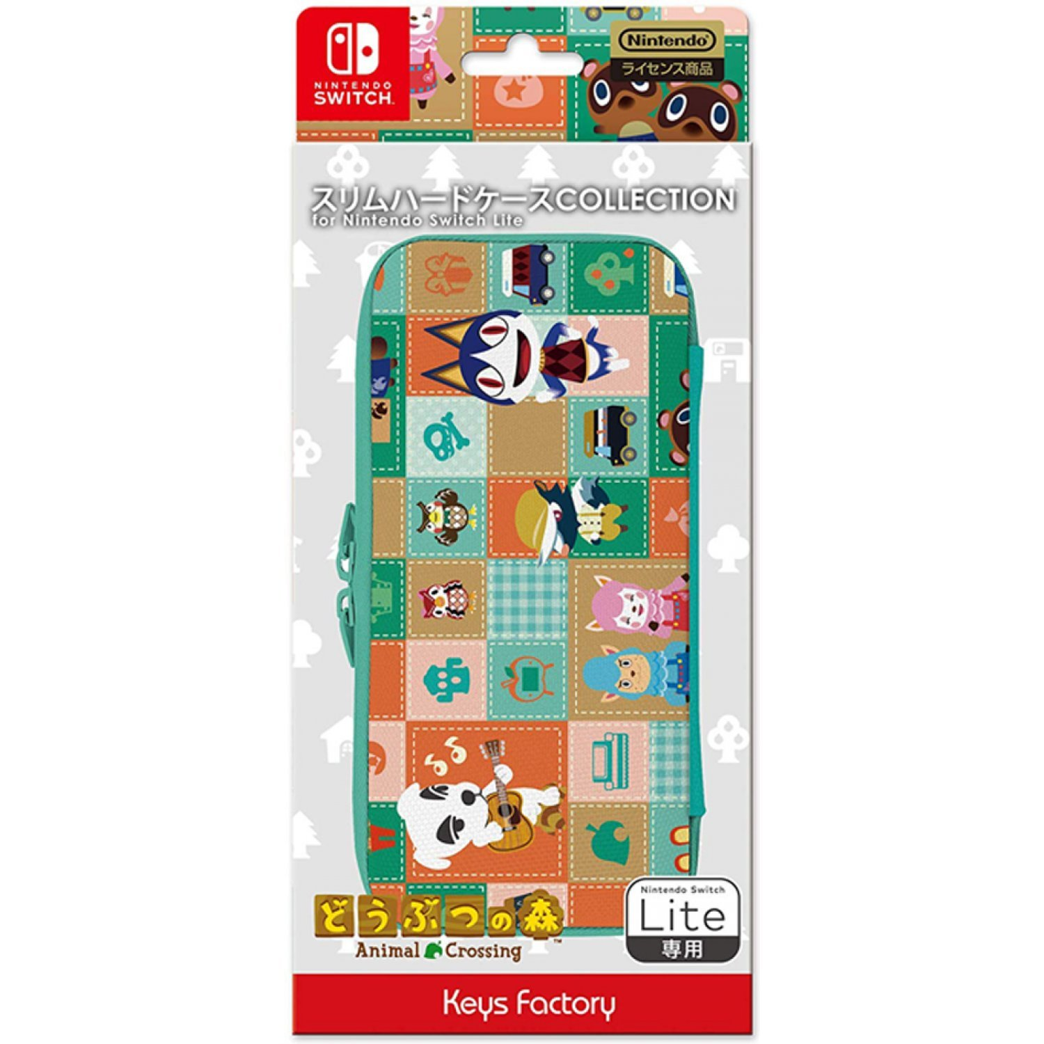 Slim Hard Case Collection For Nintendo Switch Lite Animal Crossing