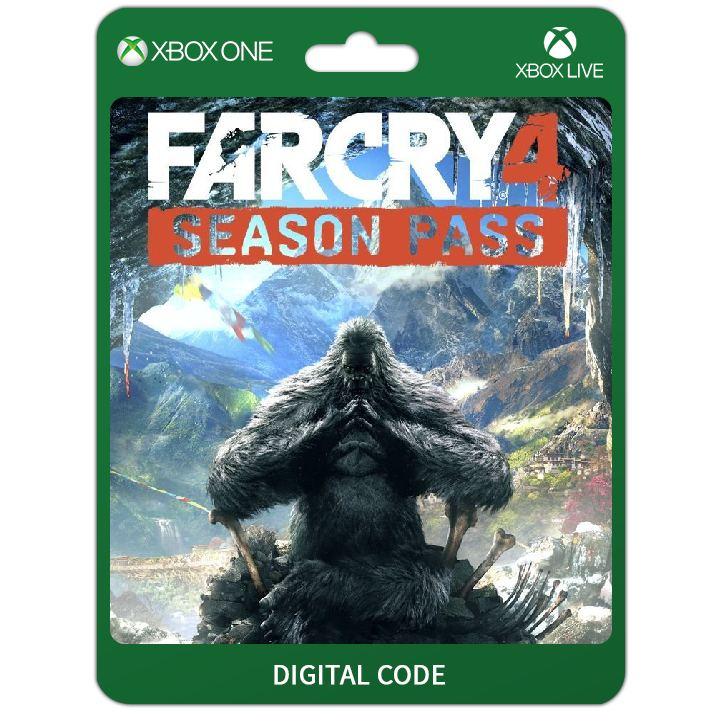 Far Cry 4 Season Pass Dlc Digital